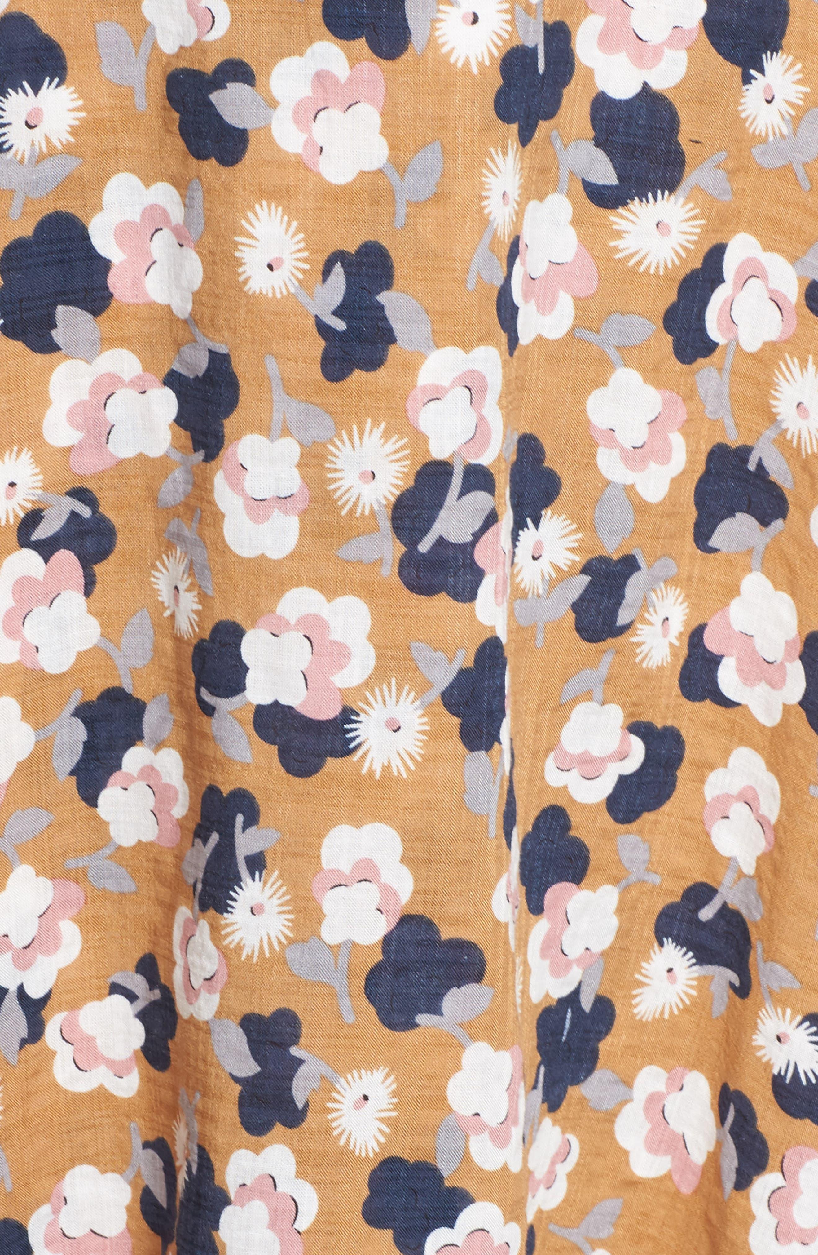Floral Maxi Dress,                             Alternate thumbnail 5, color,                             750