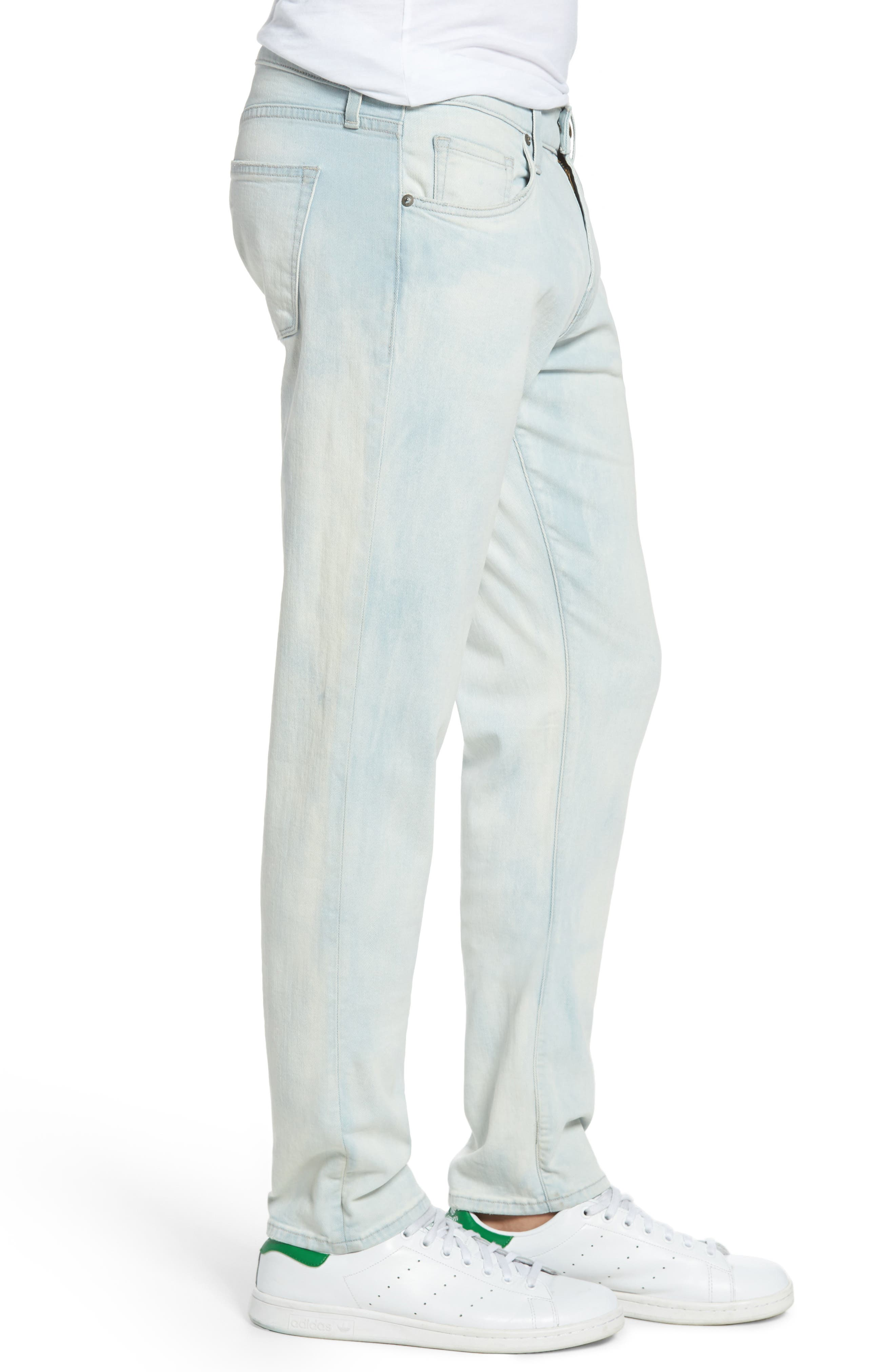 Tyler Slim Fit Jeans,                             Alternate thumbnail 3, color,                             455