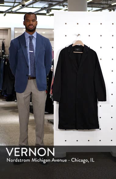 Relaxed Fit Long Denim Coat, sales video thumbnail