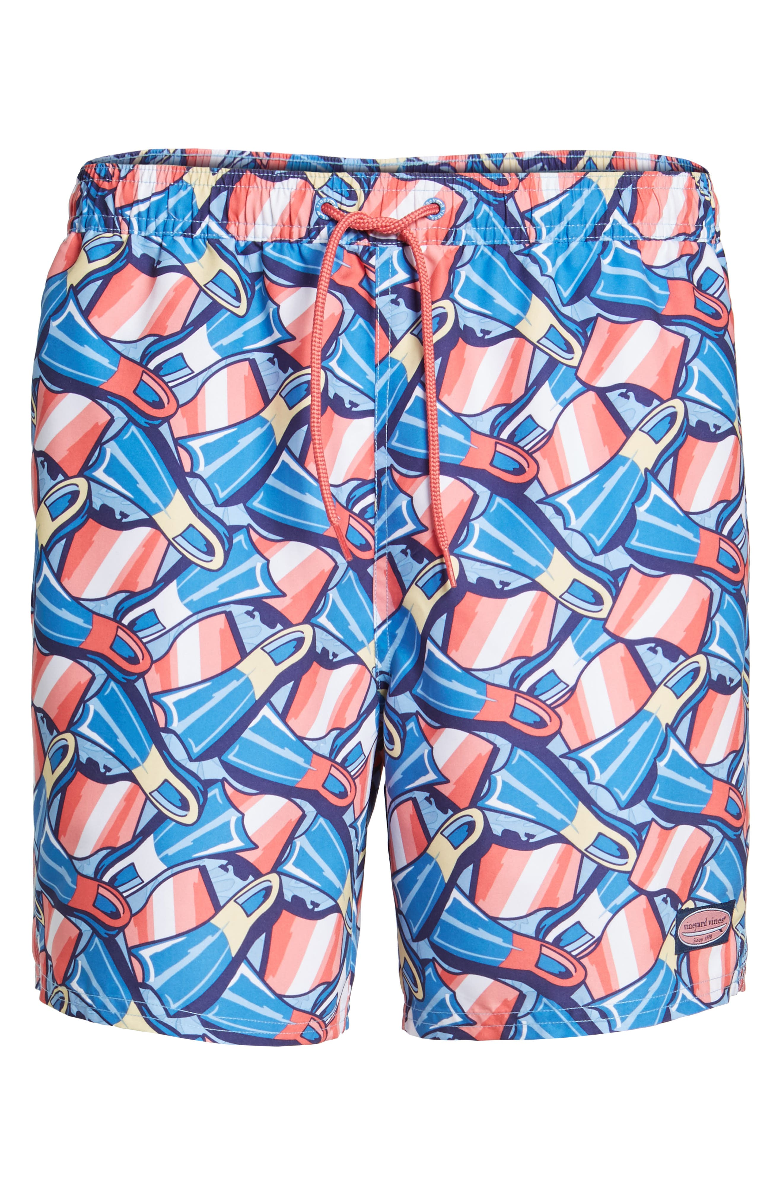 Flippers Chappy Swim Trunks,                             Alternate thumbnail 6, color,                             437