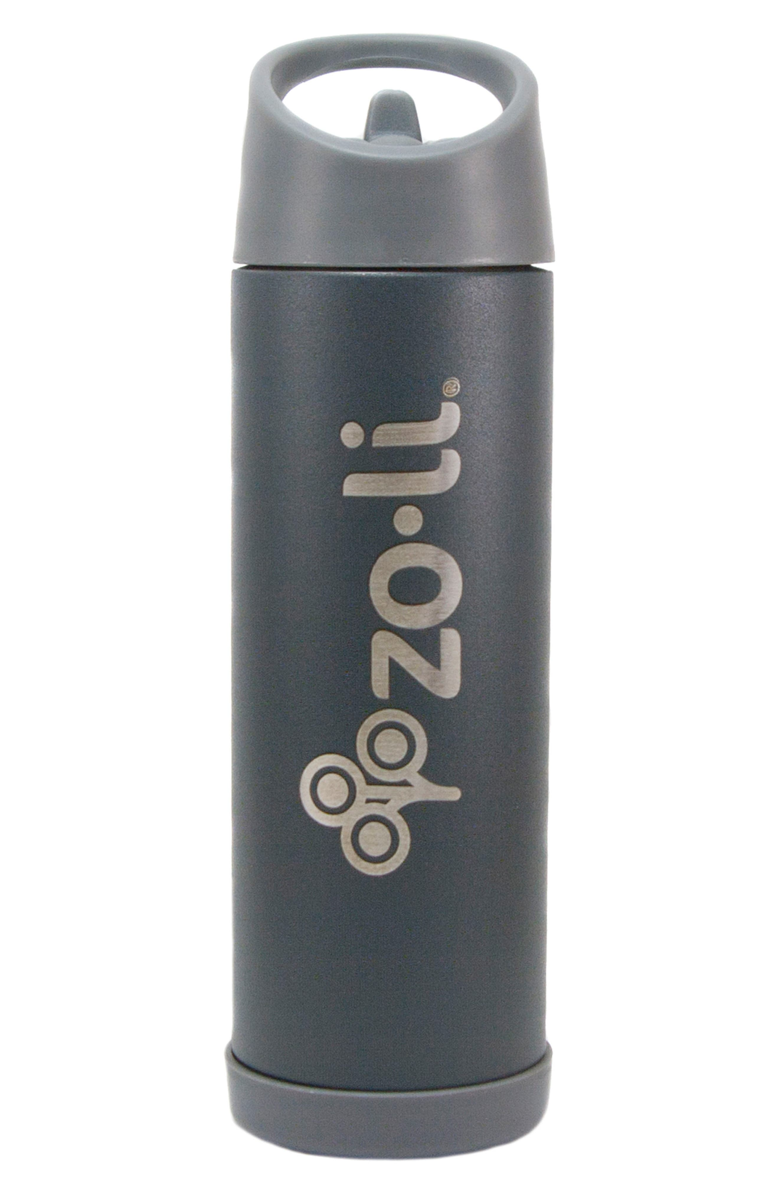 POW Pip 16-Ounce Insulated Stainless Steel Bottle with Straw,                         Main,                         color, 020