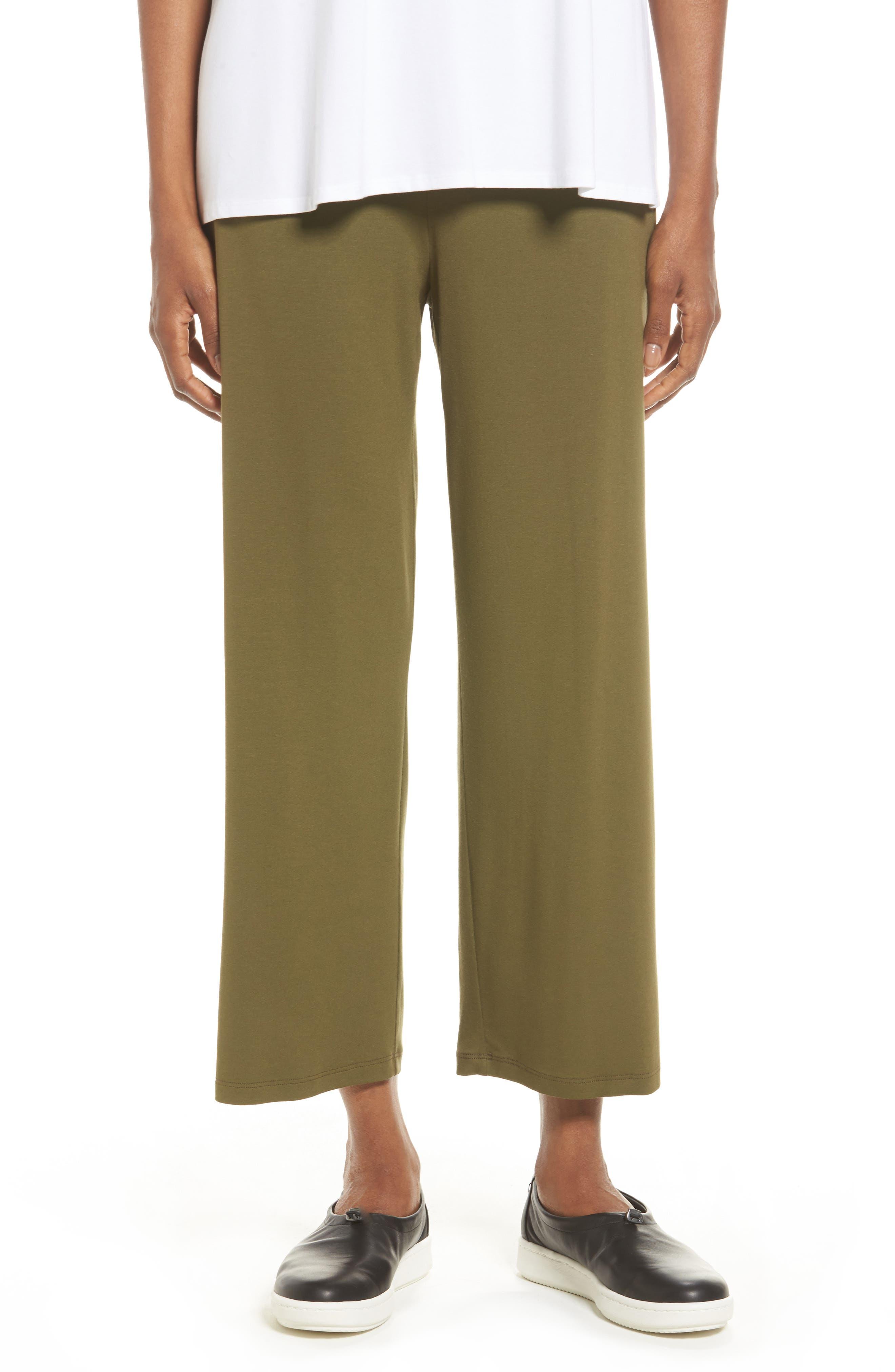 Crop Jersey Pants,                             Main thumbnail 4, color,
