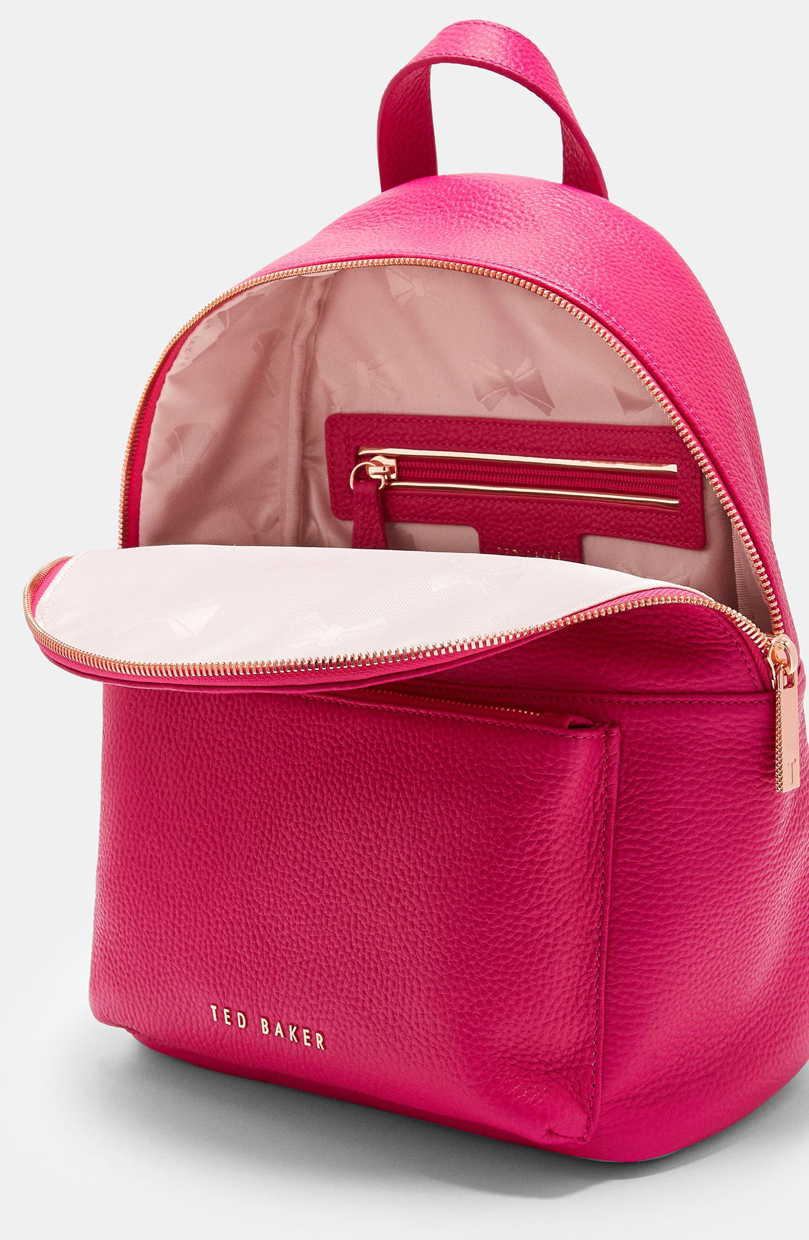 Pearen Leather Backpack,                             Alternate thumbnail 15, color,
