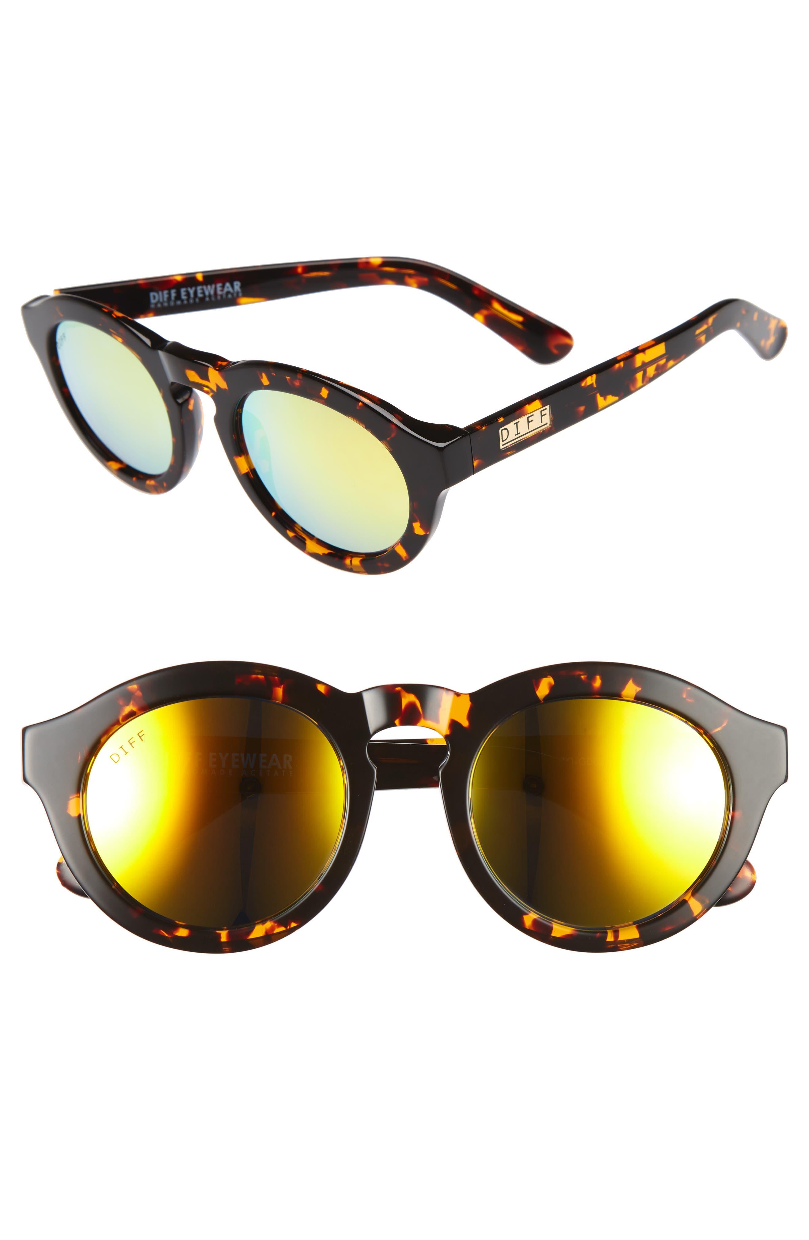 Dime 48mm Retro Sunglasses,                             Main thumbnail 8, color,