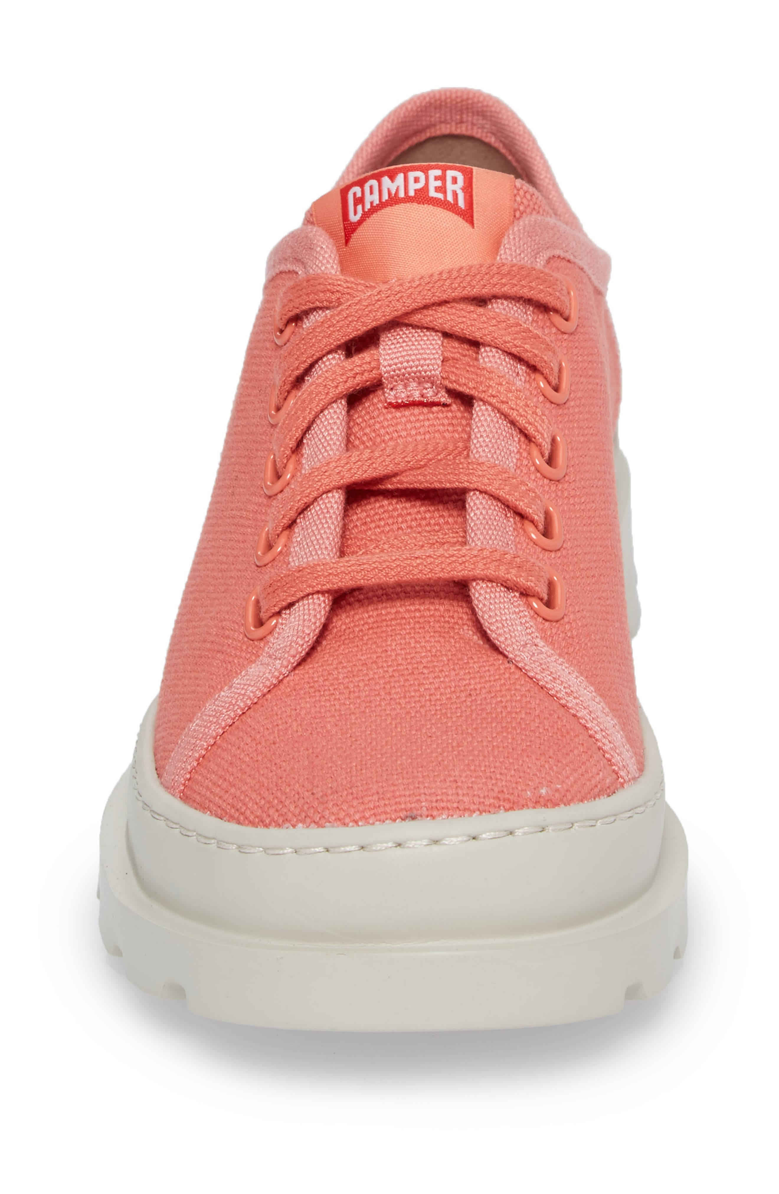 Brutus Lugged Platform Sneaker,                             Alternate thumbnail 4, color,                             PINK