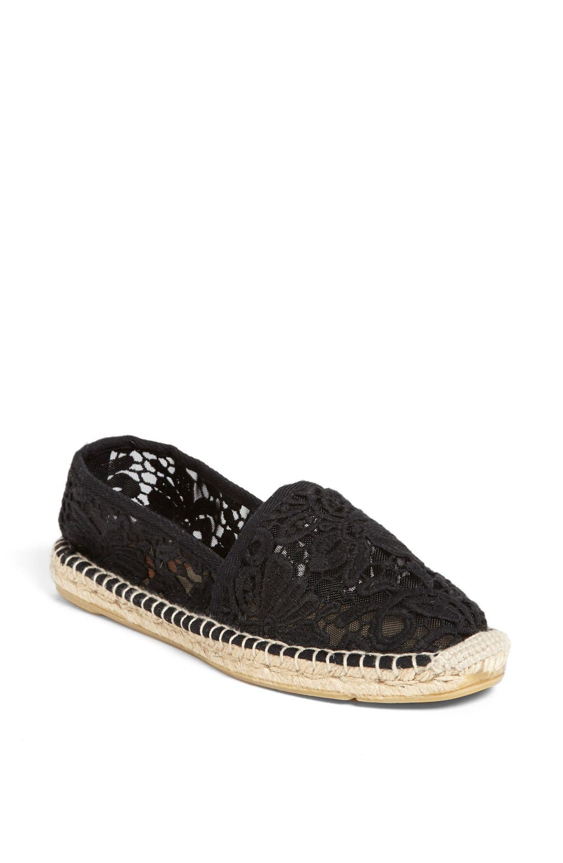 TORY BURCH,                             'Abbe' Espadrille,                             Main thumbnail 1, color,                             001