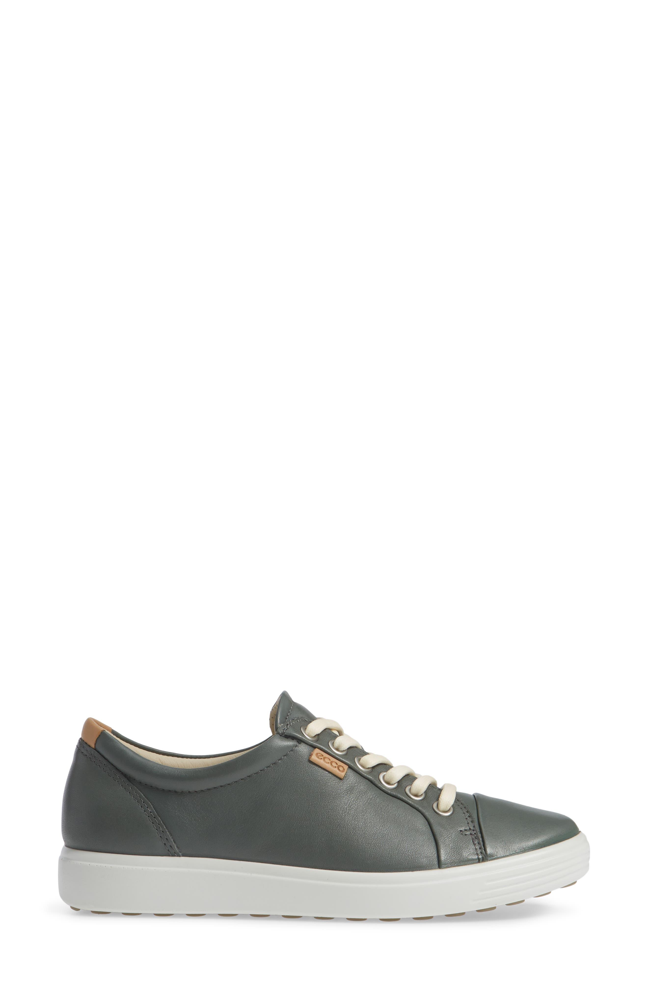 Soft 7 Sneaker,                             Alternate thumbnail 3, color,                             MOON LEATHER