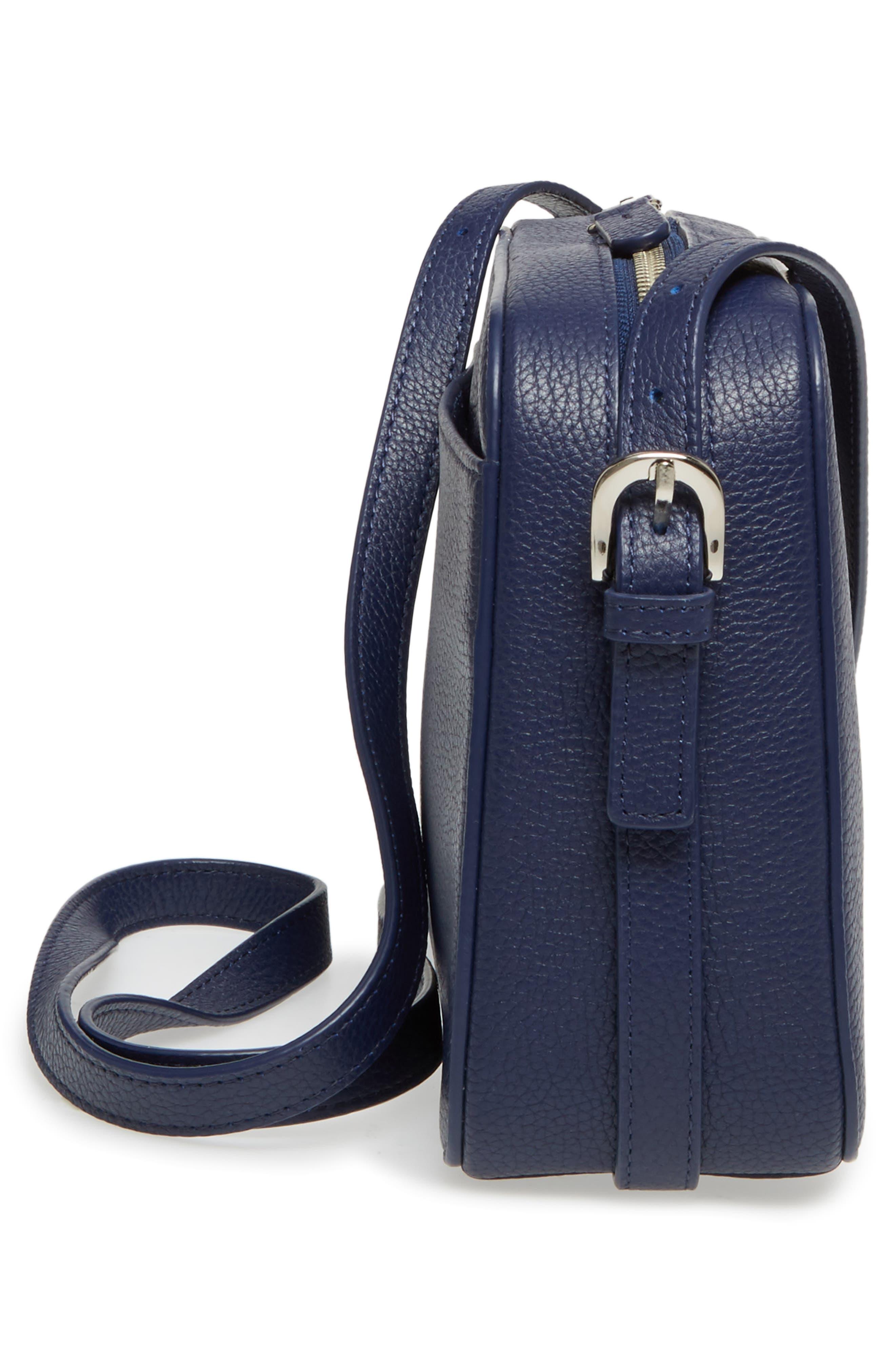 Brayden Leather Crossbody Camera Bag,                             Alternate thumbnail 24, color,