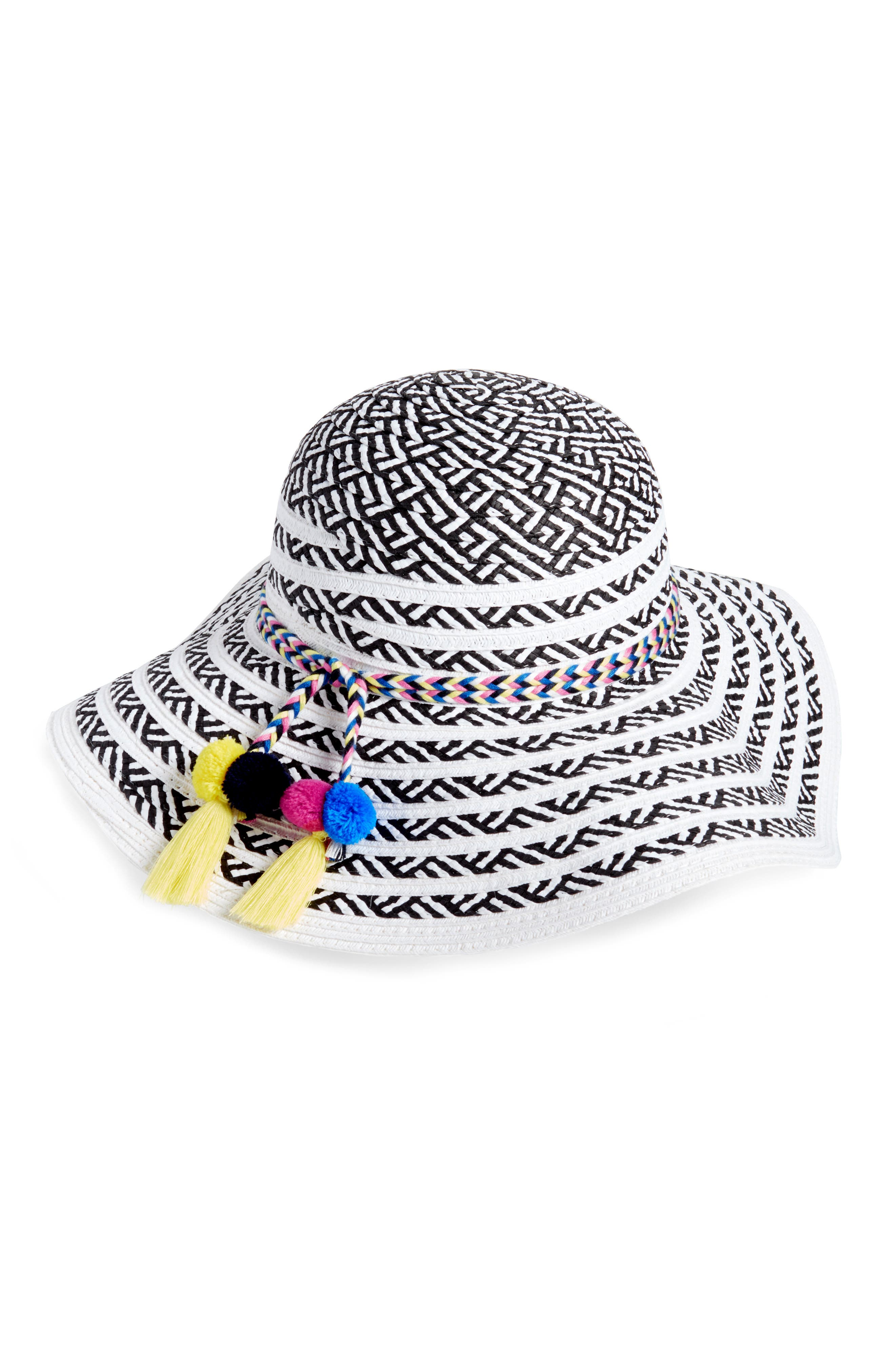 Beach Party Floppy Hat,                             Alternate thumbnail 4, color,
