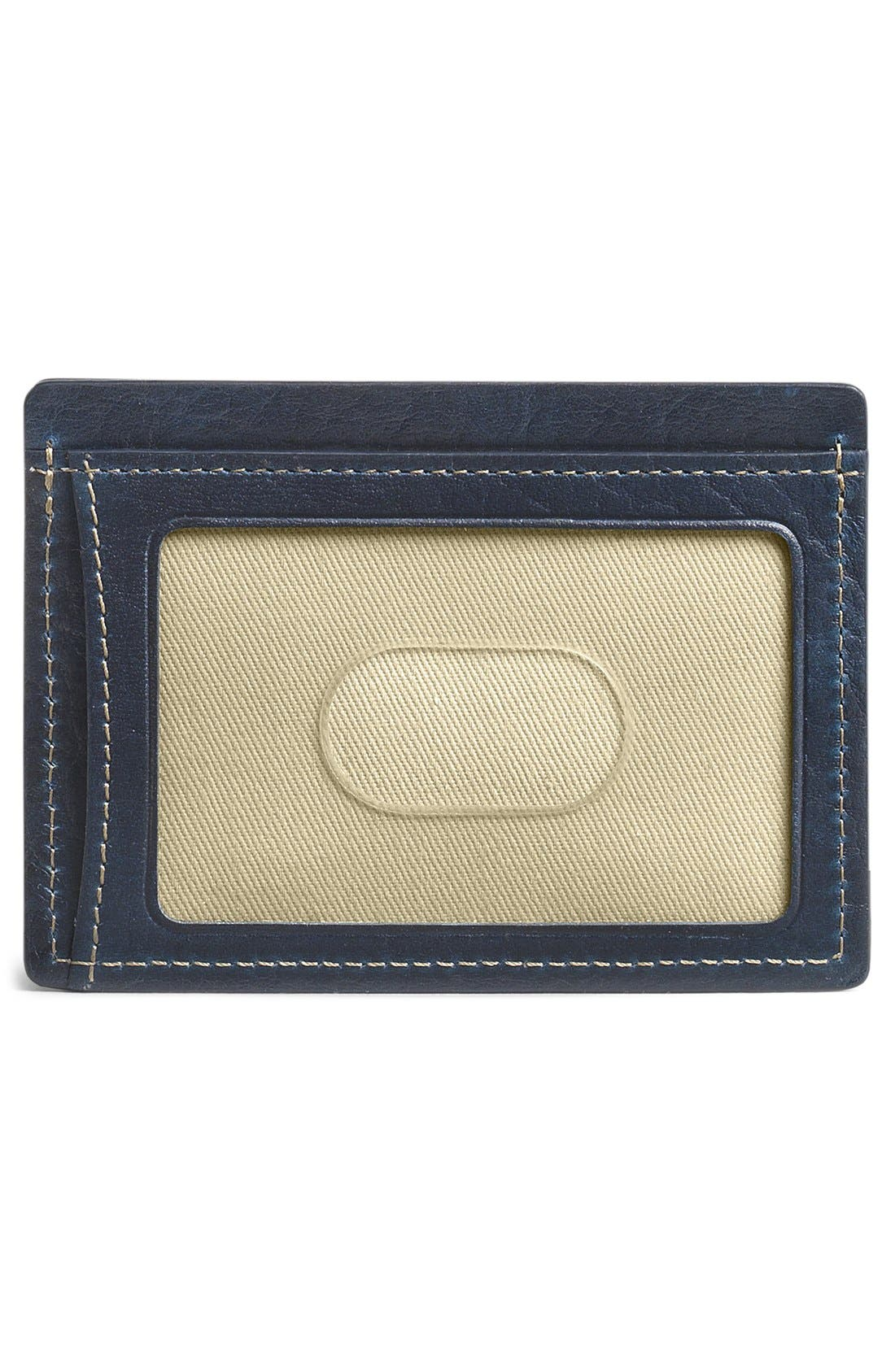 'Jackson' Leather Card Case,                             Alternate thumbnail 2, color,                             400