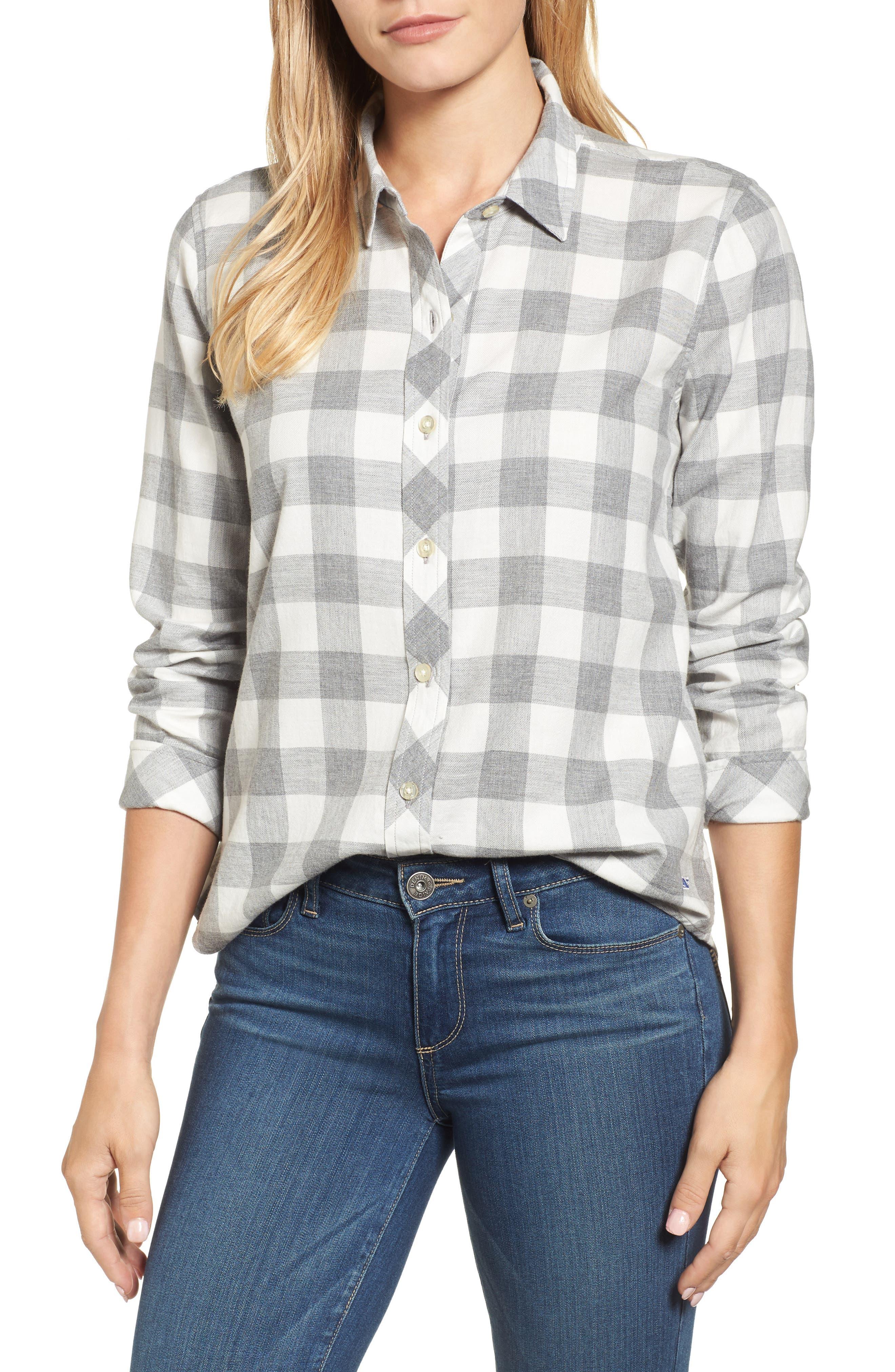 Carmel Relaxed Buffalo Check Shirt,                         Main,                         color, 059