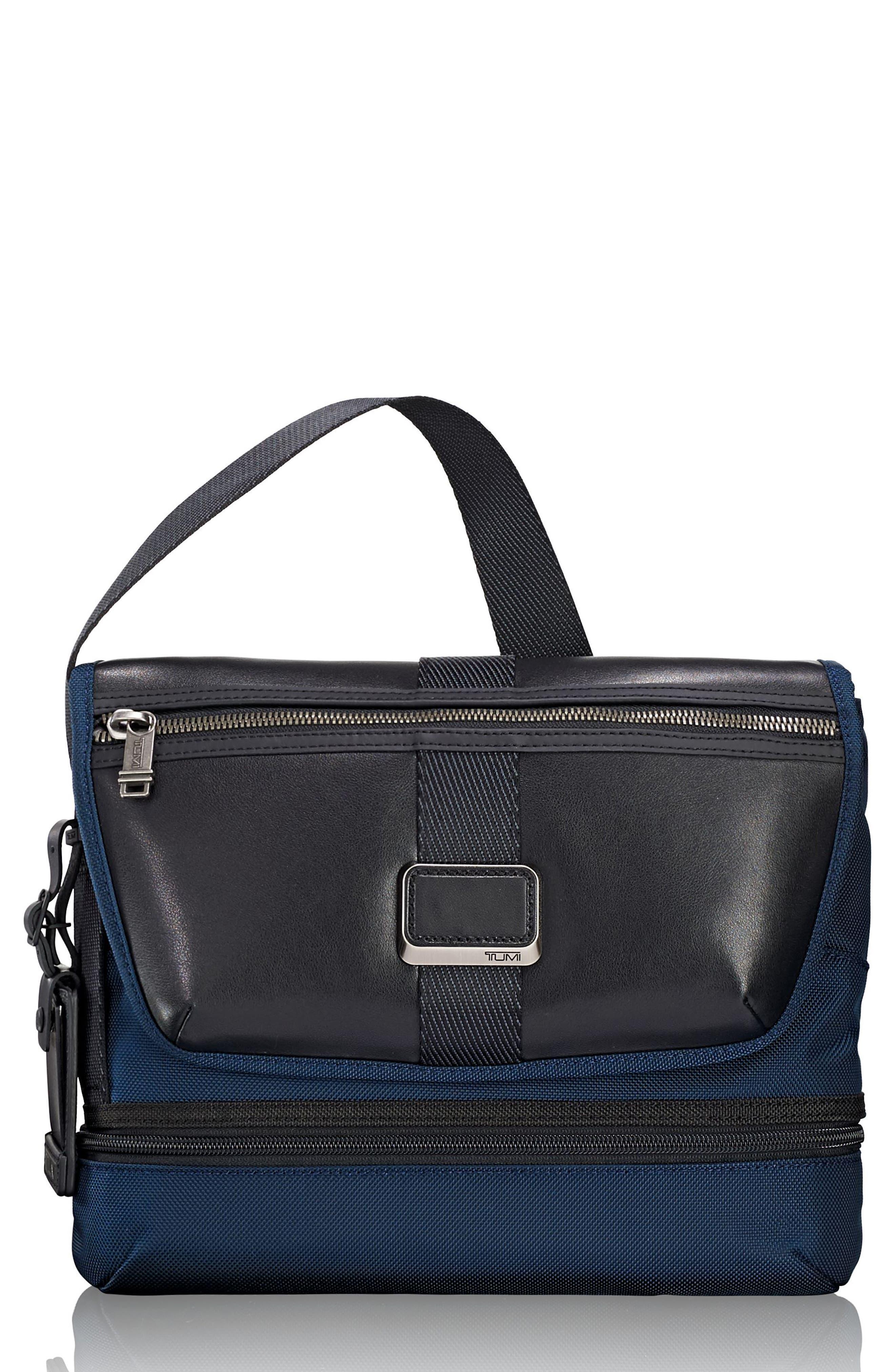 Alpha Bravo - Travis Crossbody Messenger Bag,                         Main,                         color, NAVY