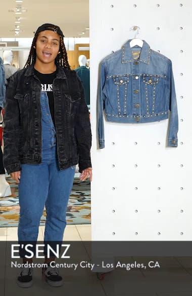 Studded Denim Jacket, sales video thumbnail