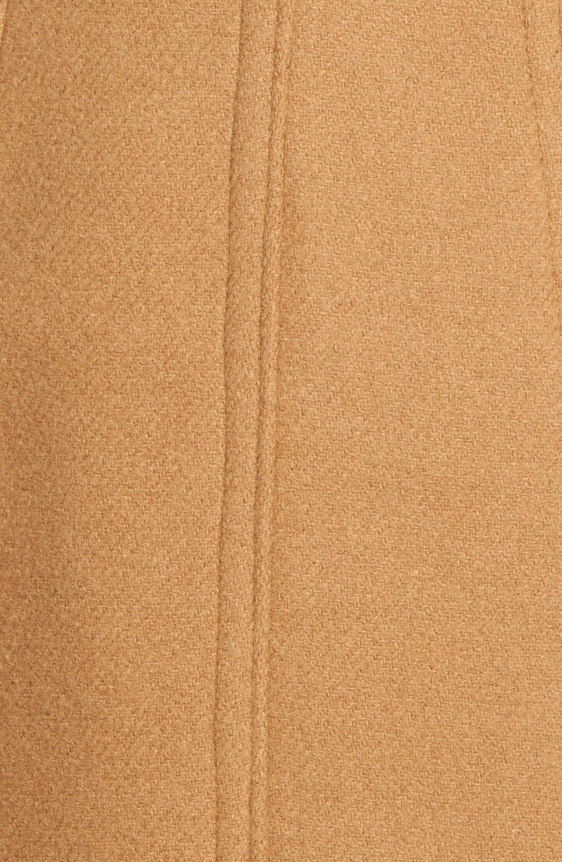 Wool Blend Peacoat,                             Alternate thumbnail 5, color,