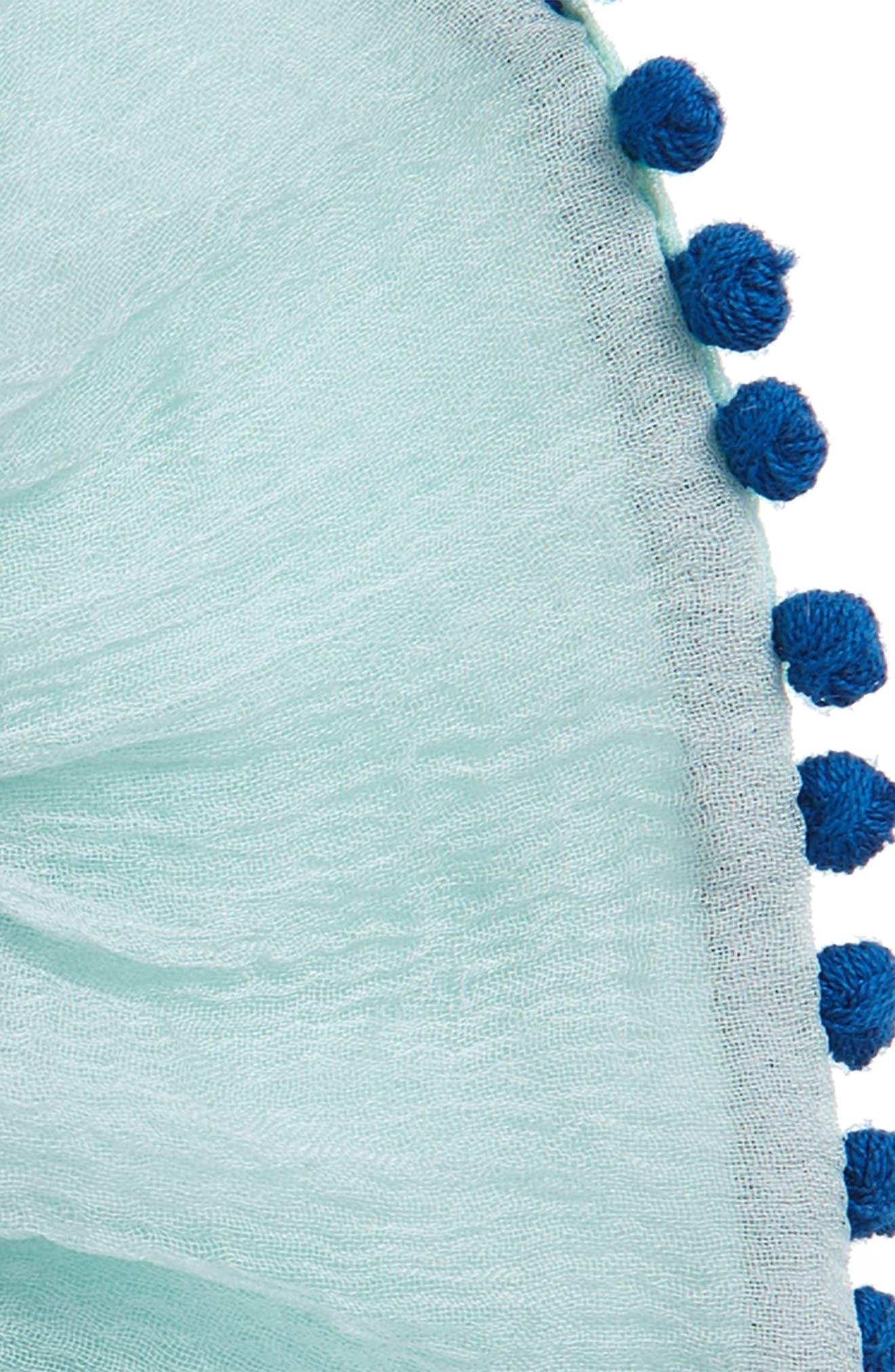 Pompom Scrunchie,                             Alternate thumbnail 8, color,