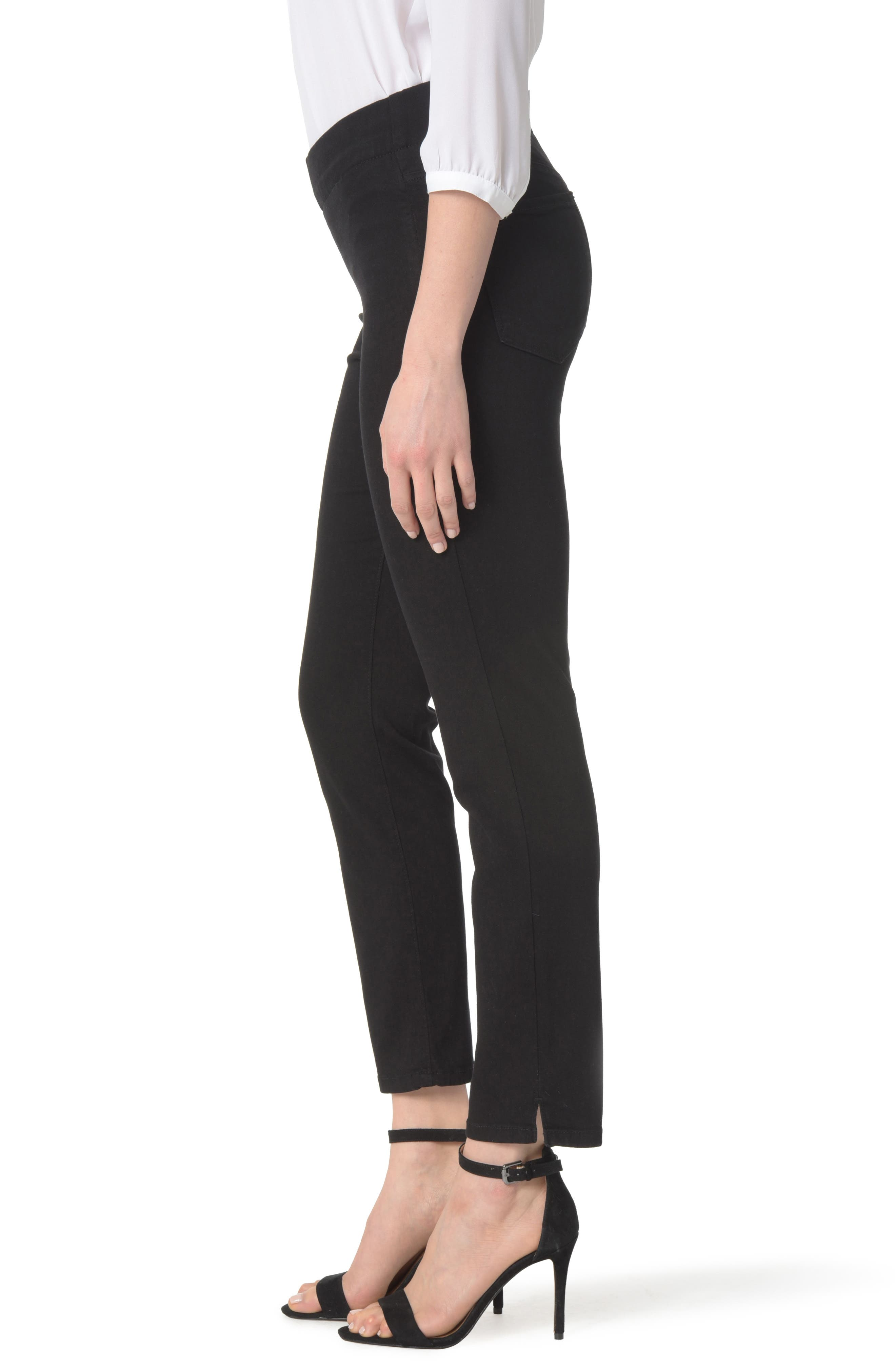 Ami Stretch Skinny Jeans,                             Alternate thumbnail 2, color,                             001
