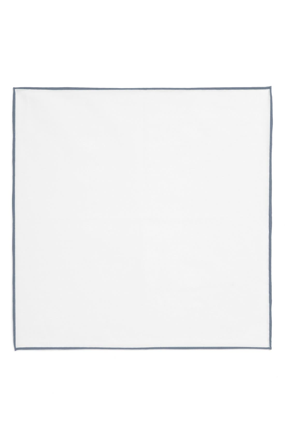Cotton Solid Pocket Square,                             Alternate thumbnail 15, color,