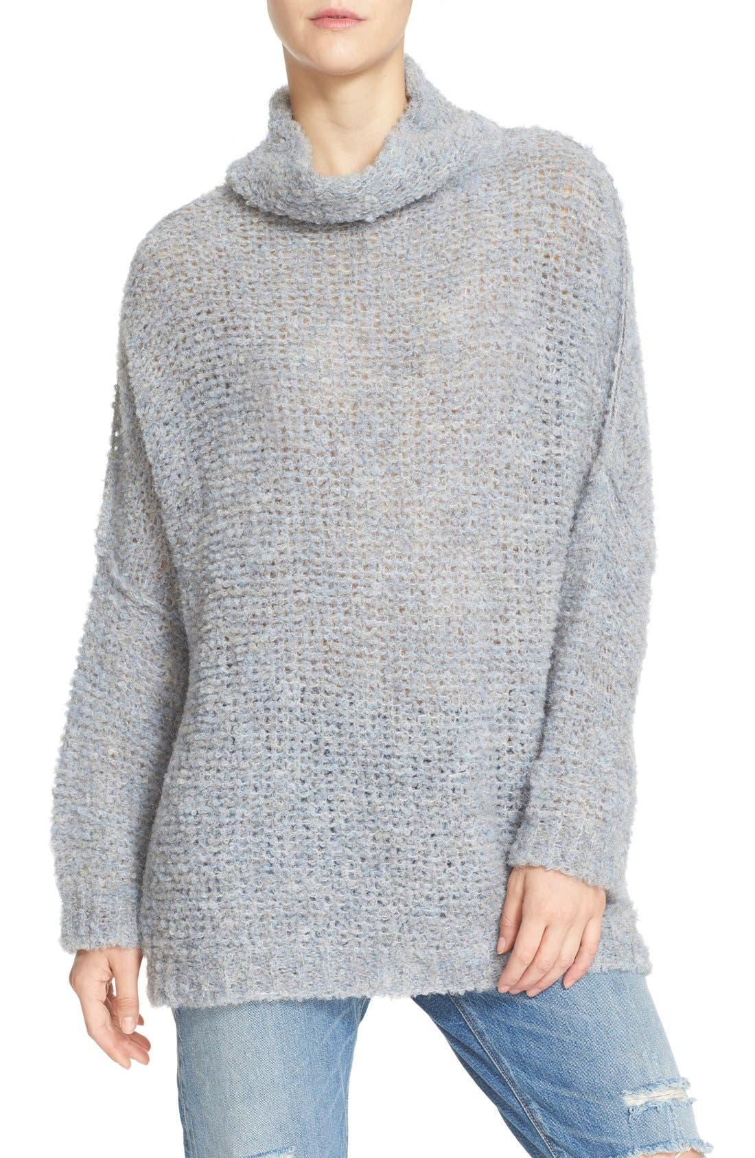 'She's All That' Knit Turtleneck Sweater,                             Alternate thumbnail 23, color,
