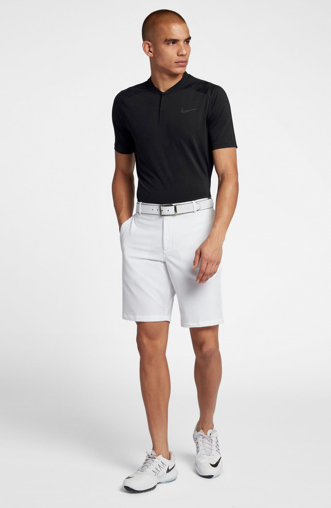 Dry Dynamic Slim Fit Polo,                             Alternate thumbnail 7, color,                             010