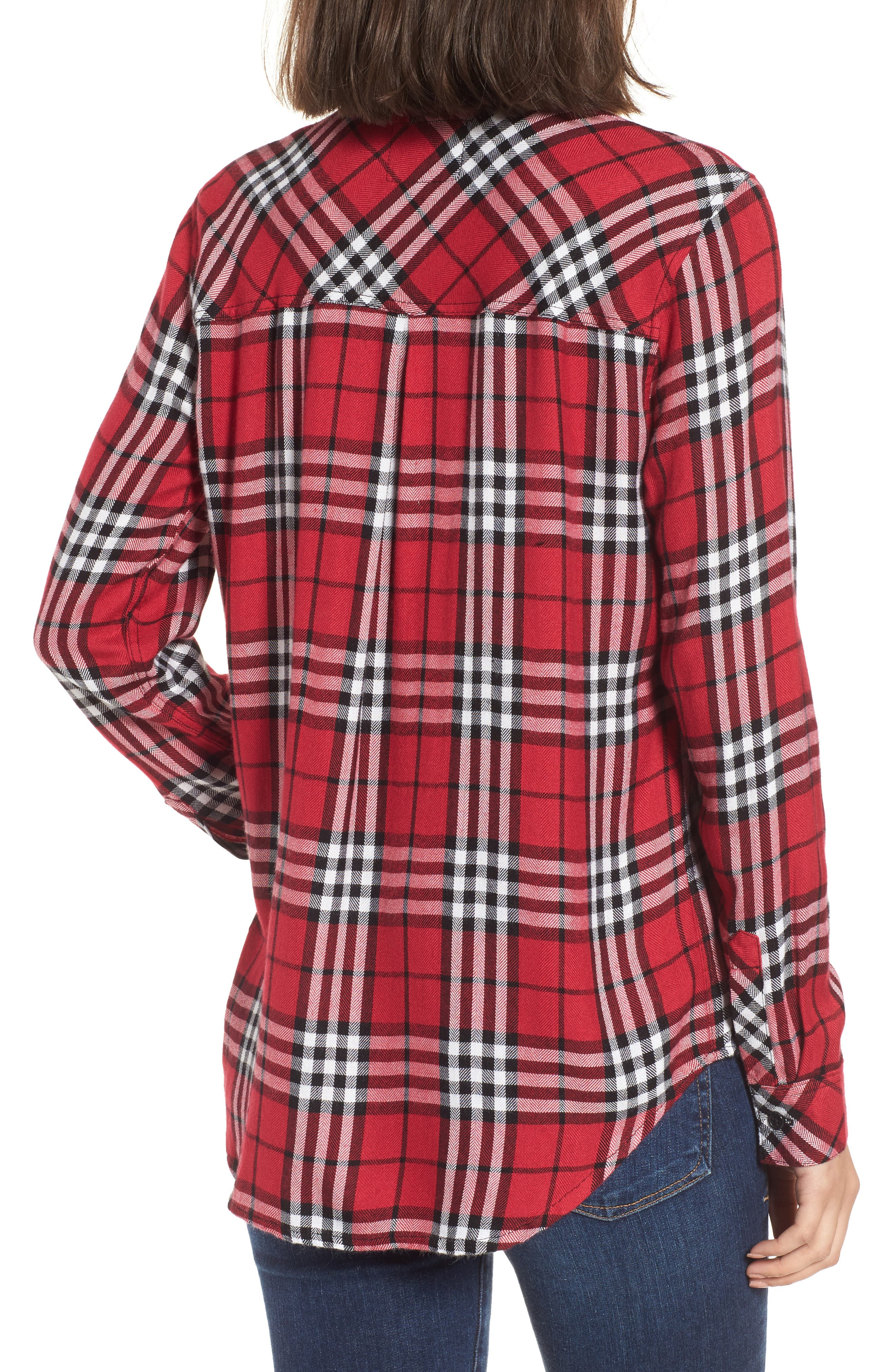 Hunter Plaid Shirt,                             Alternate thumbnail 215, color,