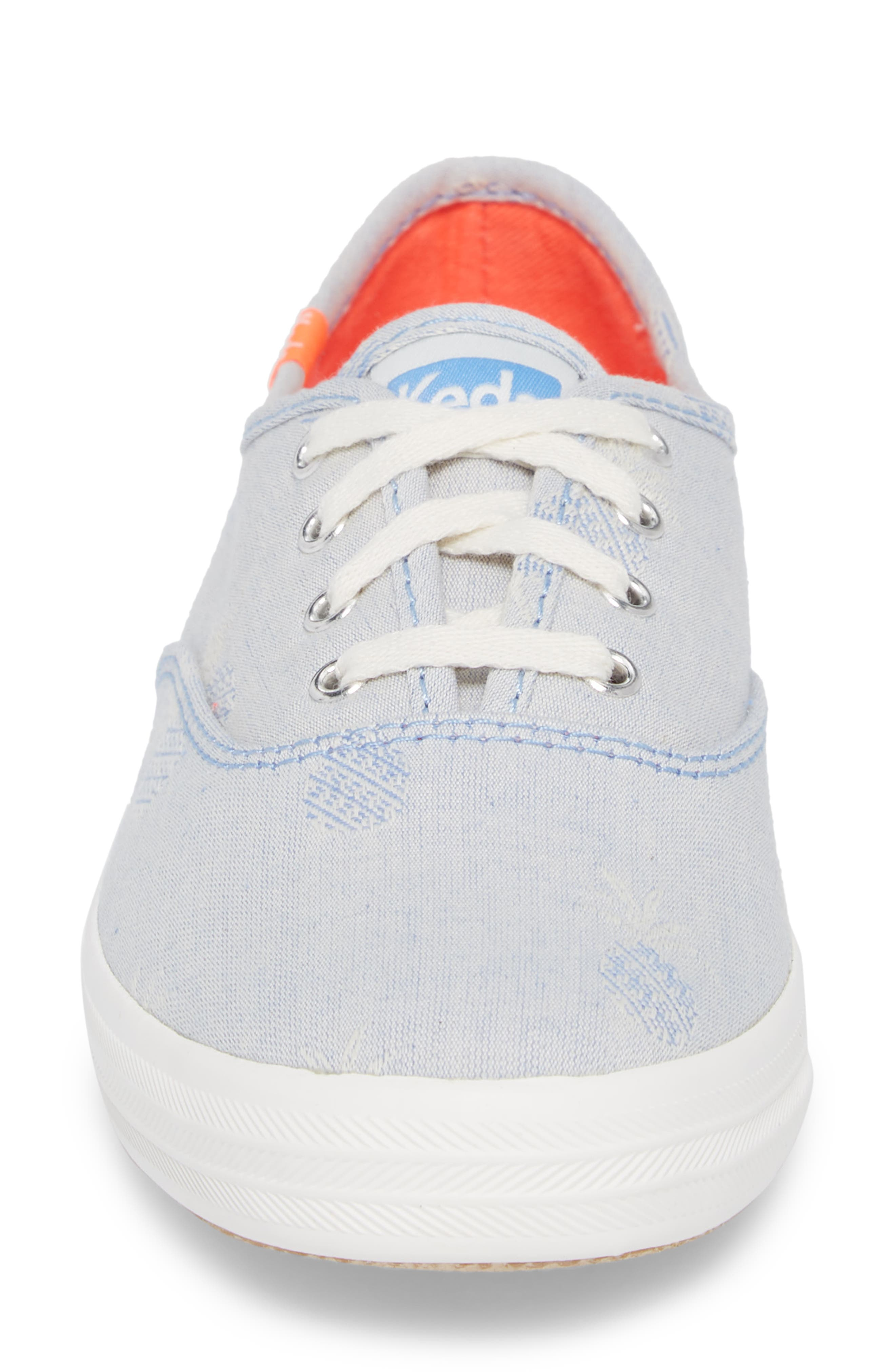 Champion Pineapple Chambray Sneaker,                             Alternate thumbnail 4, color,                             400