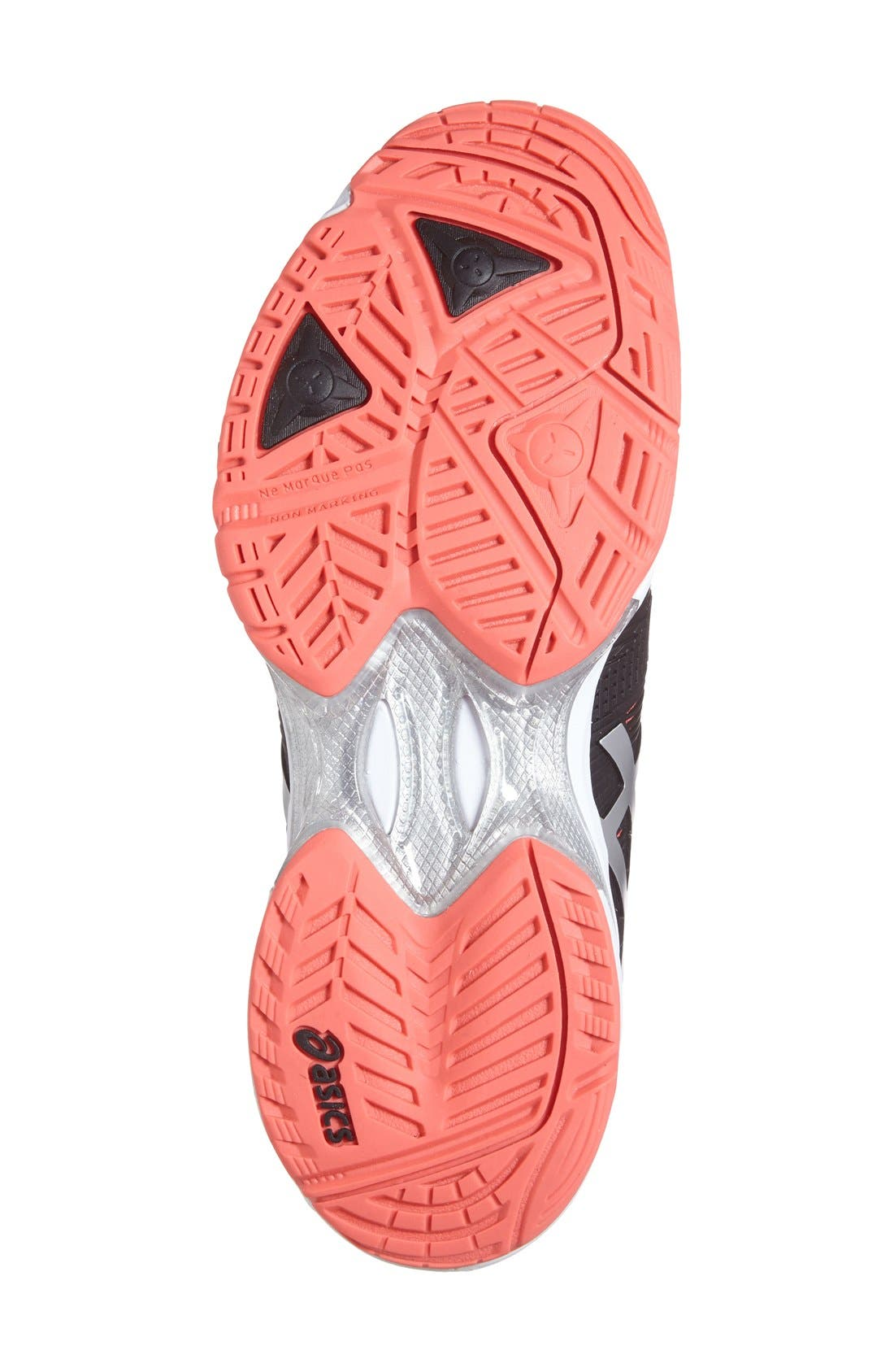 ASICS<SUP>®</SUP>,                             'GEL-Solution Speed 3' Tennis Shoe,                             Alternate thumbnail 2, color,                             001