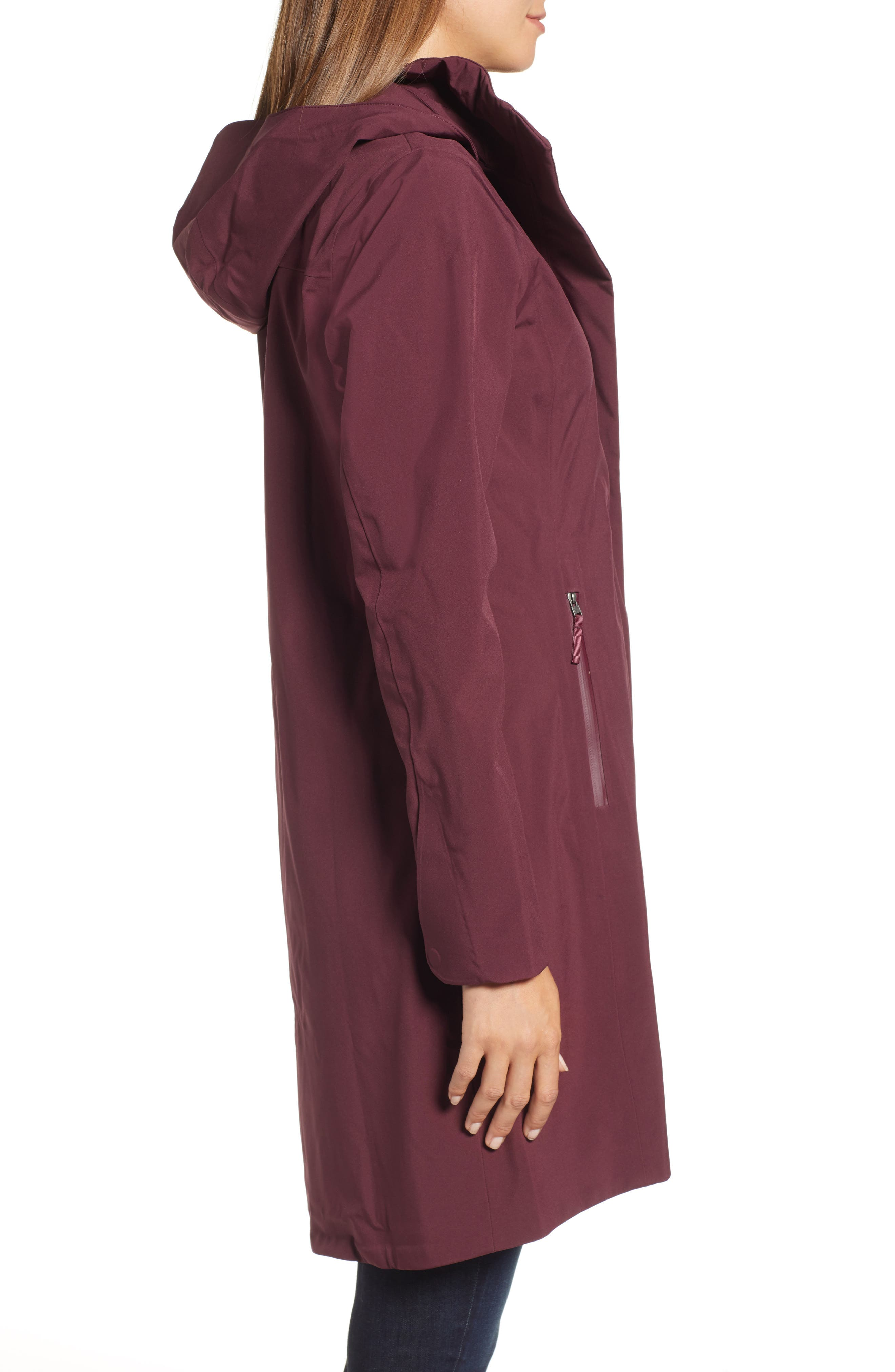 Lash Point Water Resistant Hooded Parka,                             Alternate thumbnail 10, color,