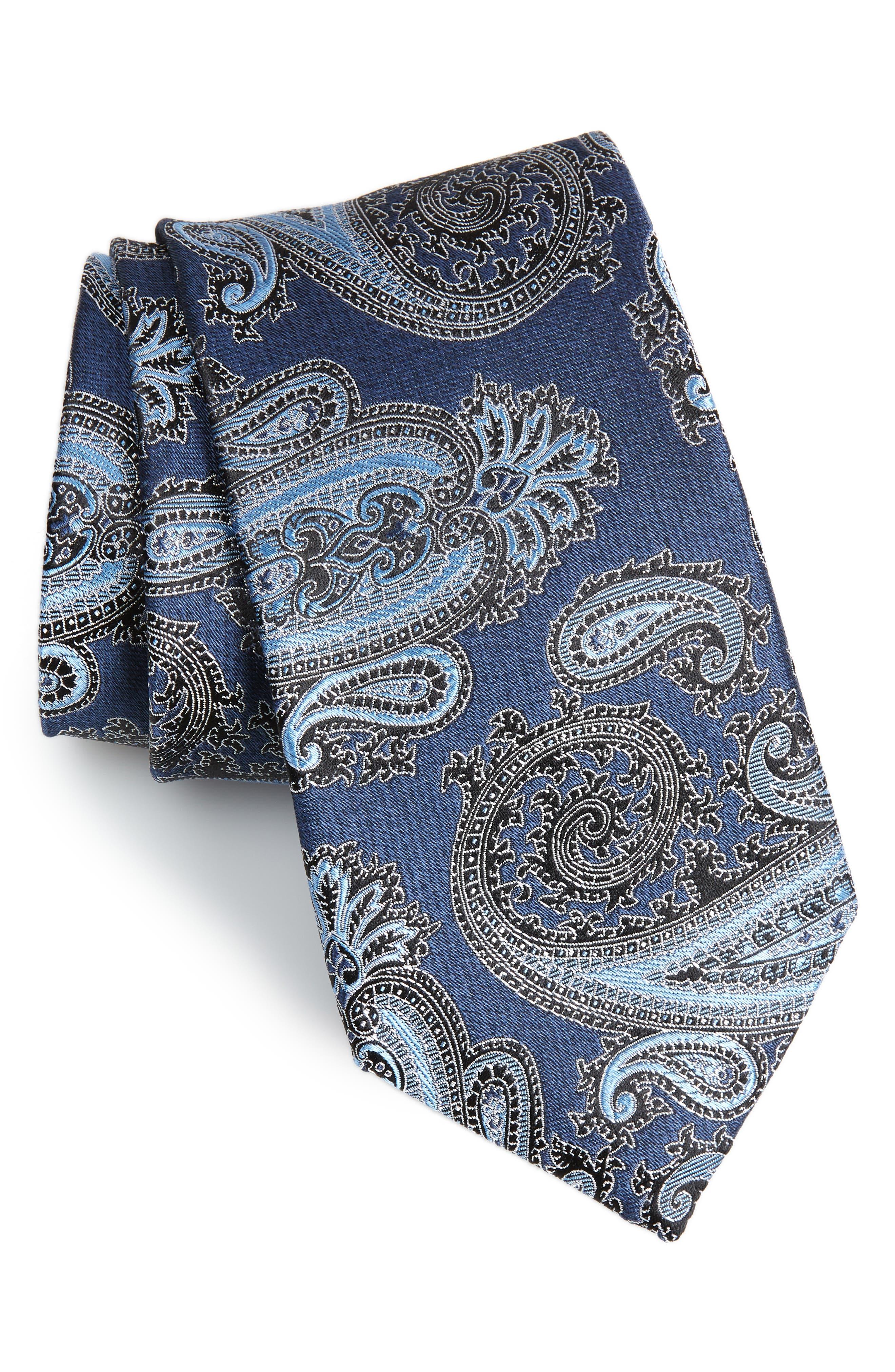 Kline Paisley Tie,                             Main thumbnail 3, color,