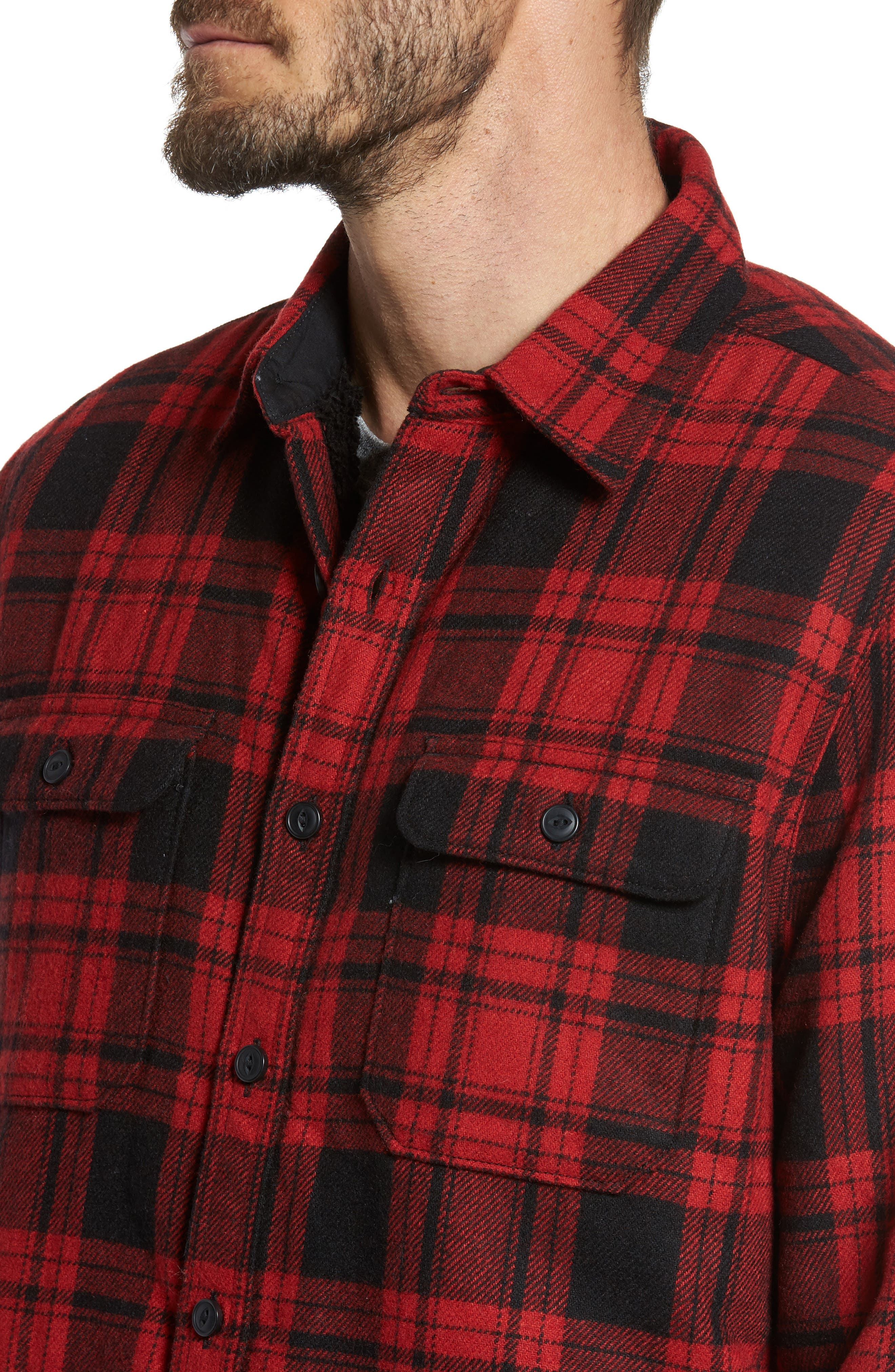 Shirt Jacket,                             Alternate thumbnail 12, color,