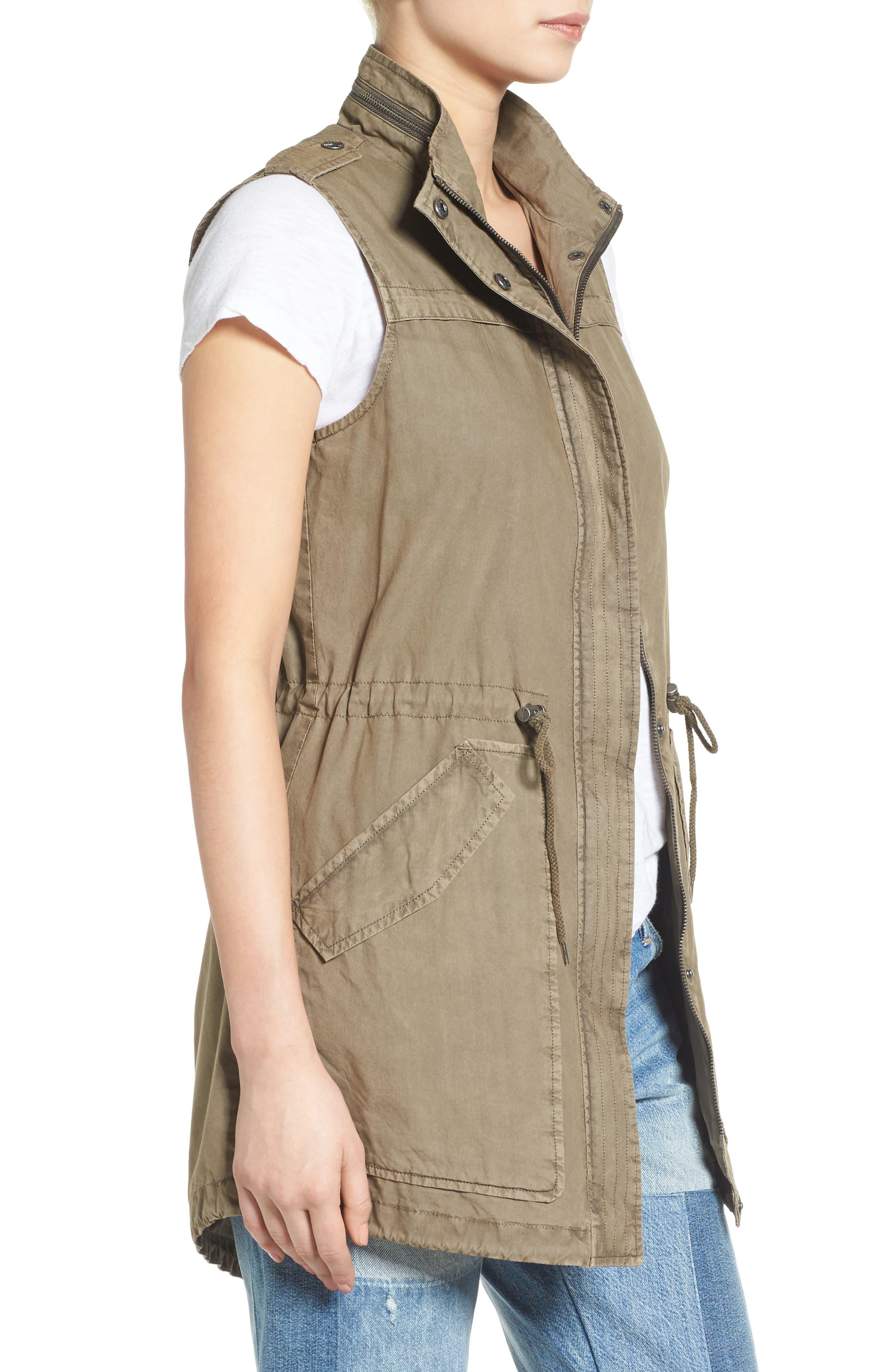 Levi's Parachute Cotton Vest,                             Alternate thumbnail 8, color,