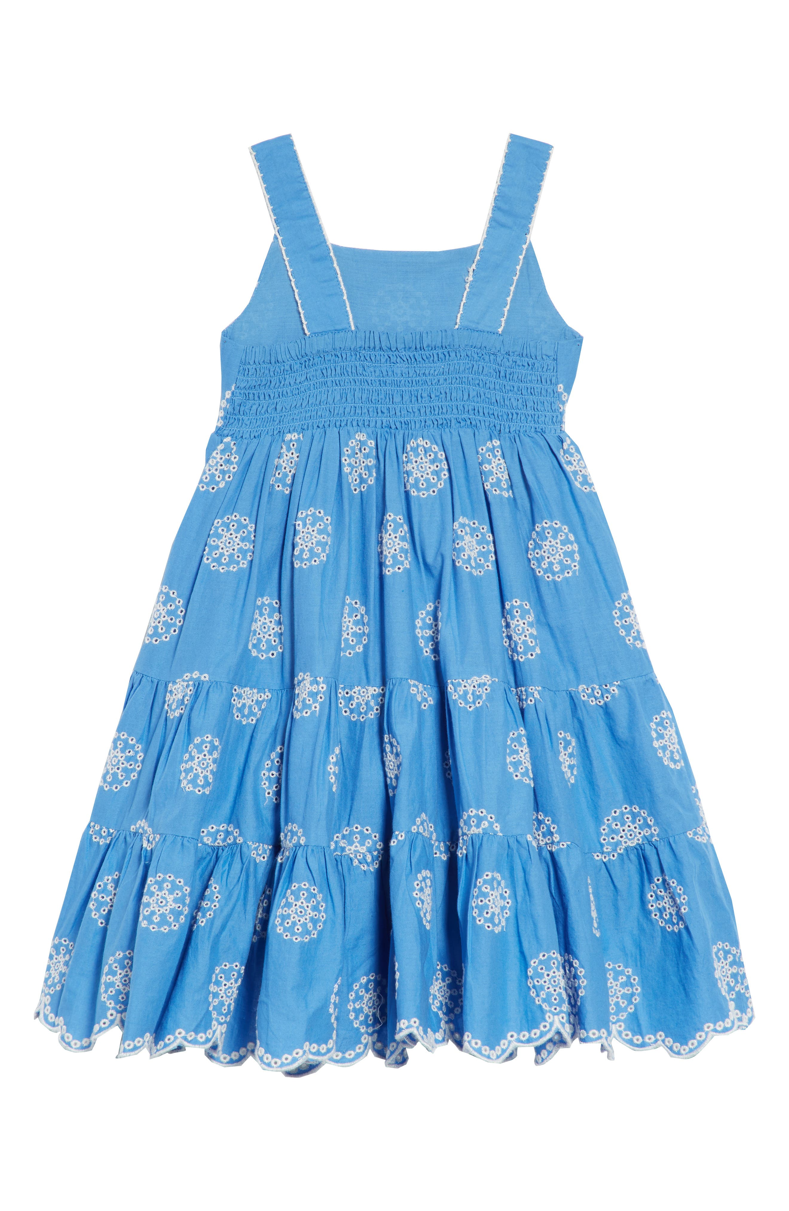 Twirly Tiered Dress,                             Alternate thumbnail 2, color,                             424