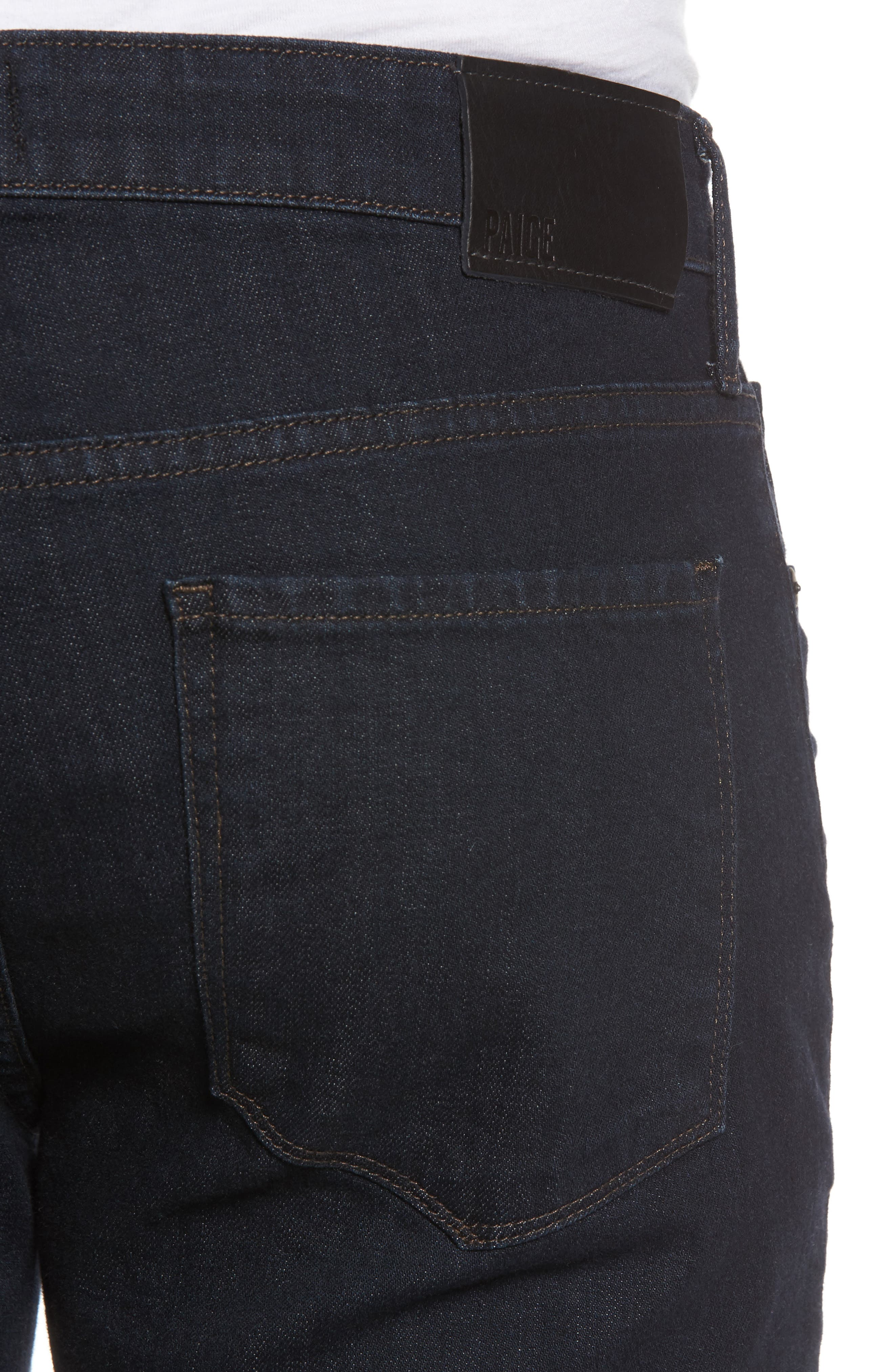 Normandie Straight Fit Jeans,                             Alternate thumbnail 4, color,                             400