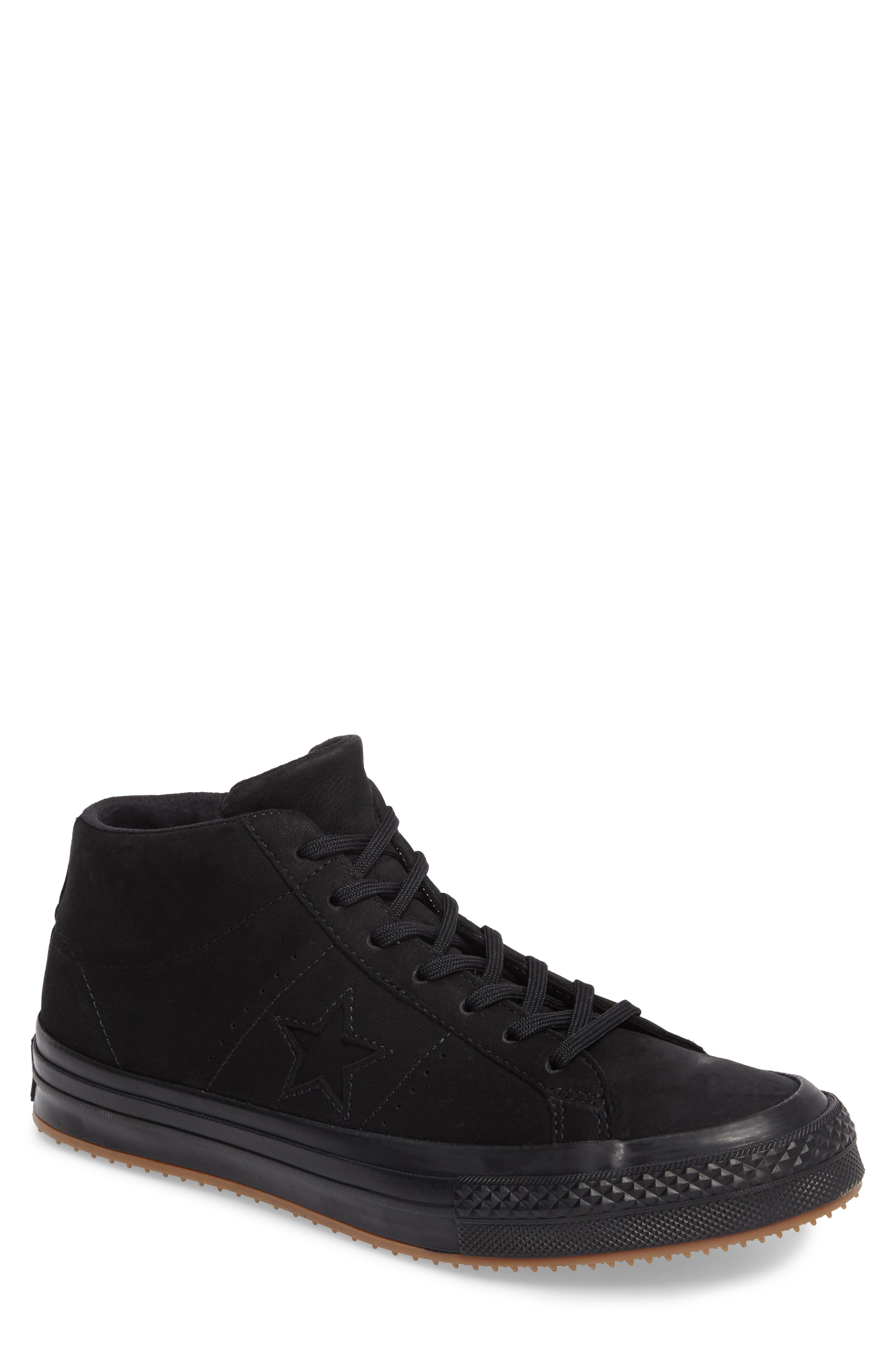 One Star Mid Sneaker,                         Main,                         color, 001