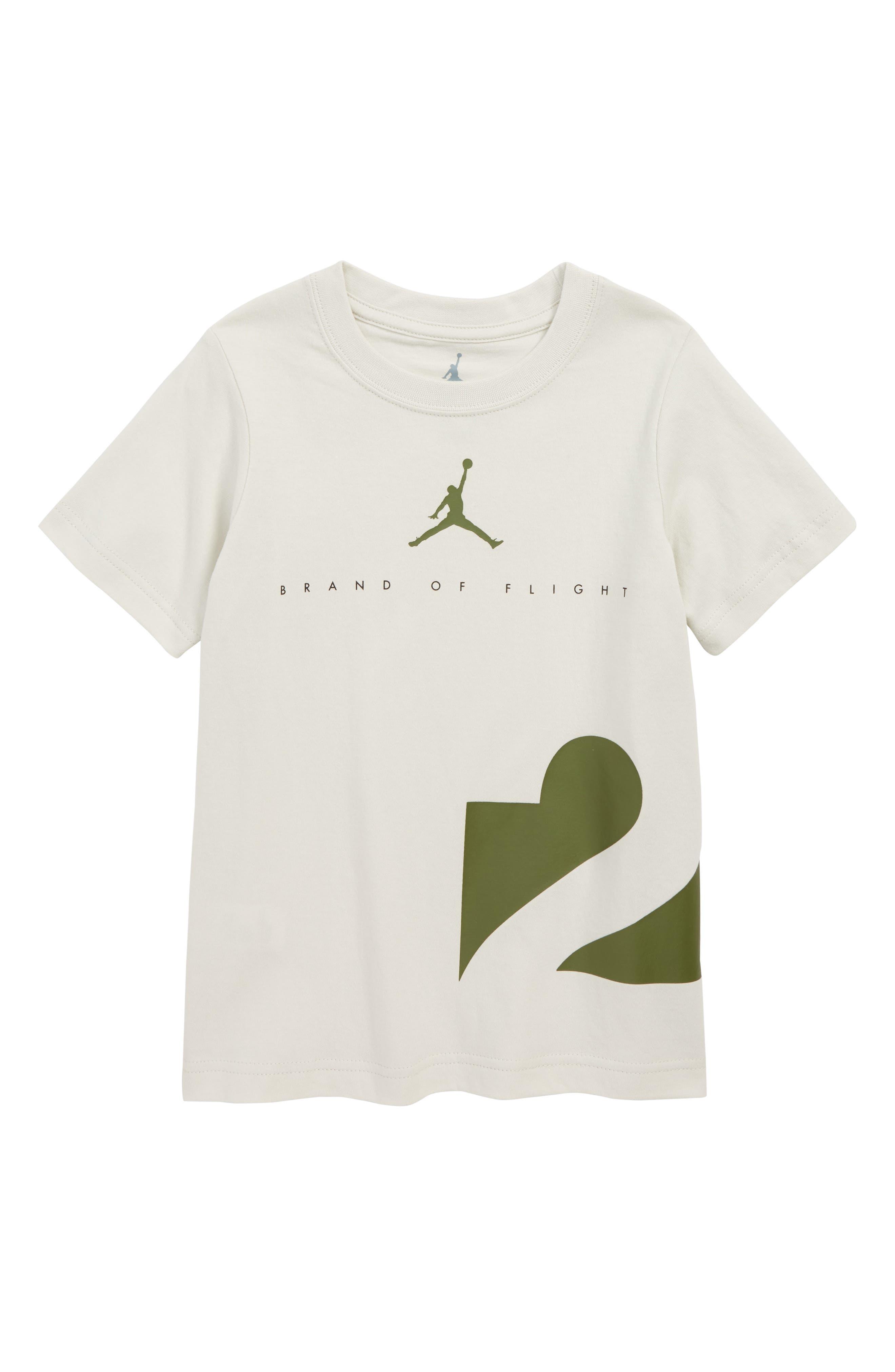 Jordan Two Three T-Shirt,                         Main,                         color, LIGHT BONE