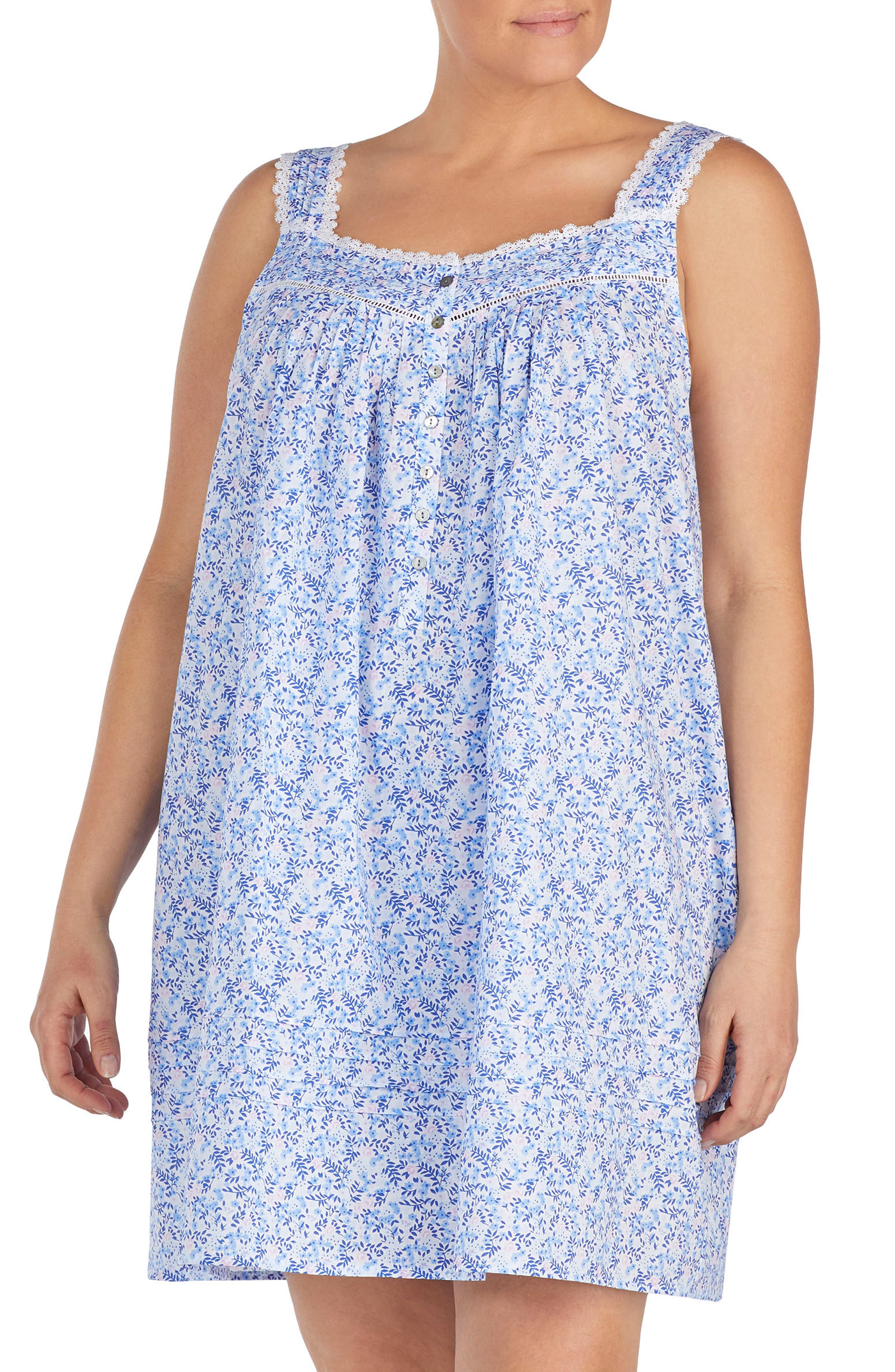Cotton Lawn Chemise,                         Main,                         color,