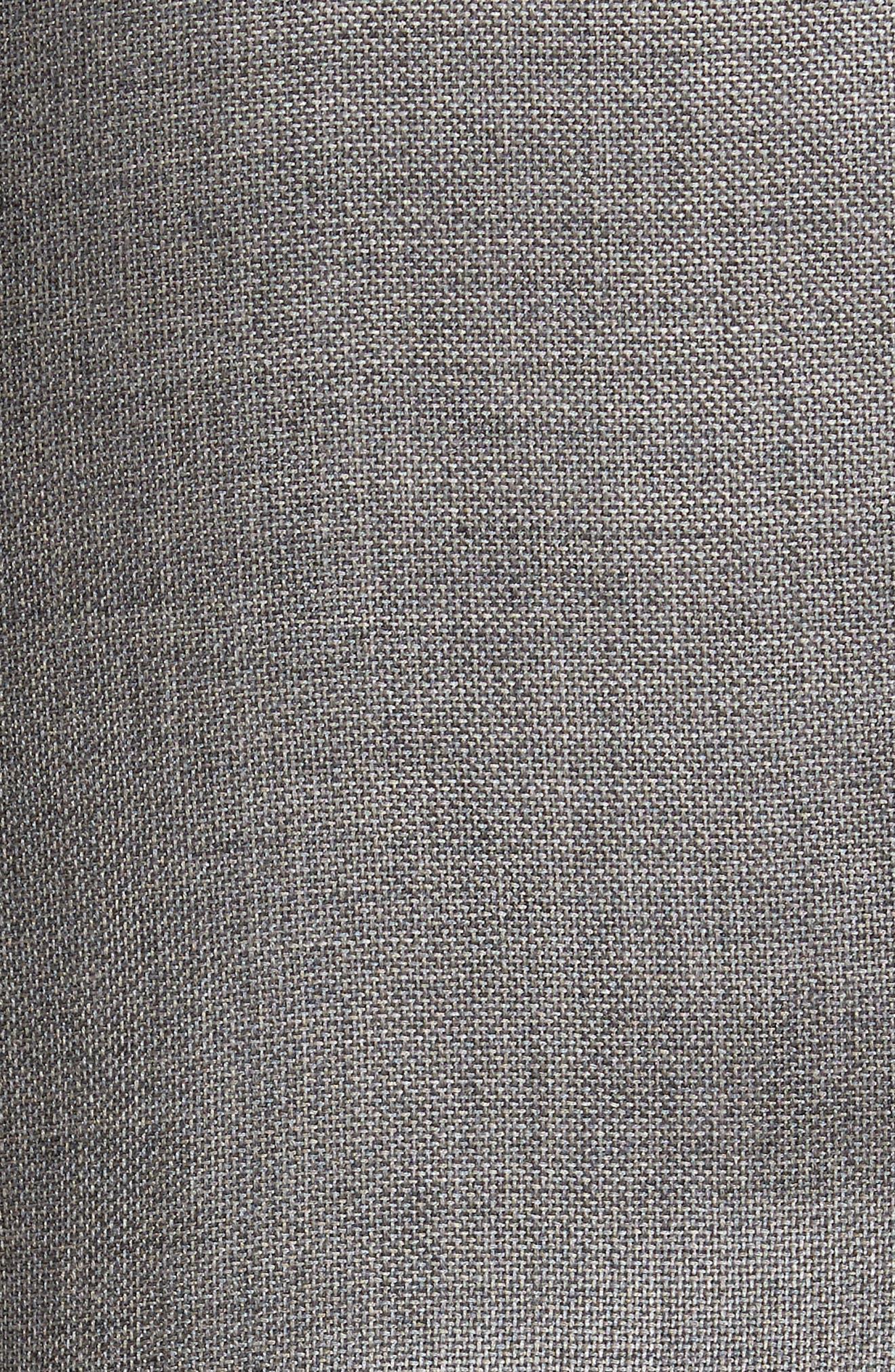 Trim Fit Cashmere & Silk Blazer,                             Alternate thumbnail 6, color,                             030