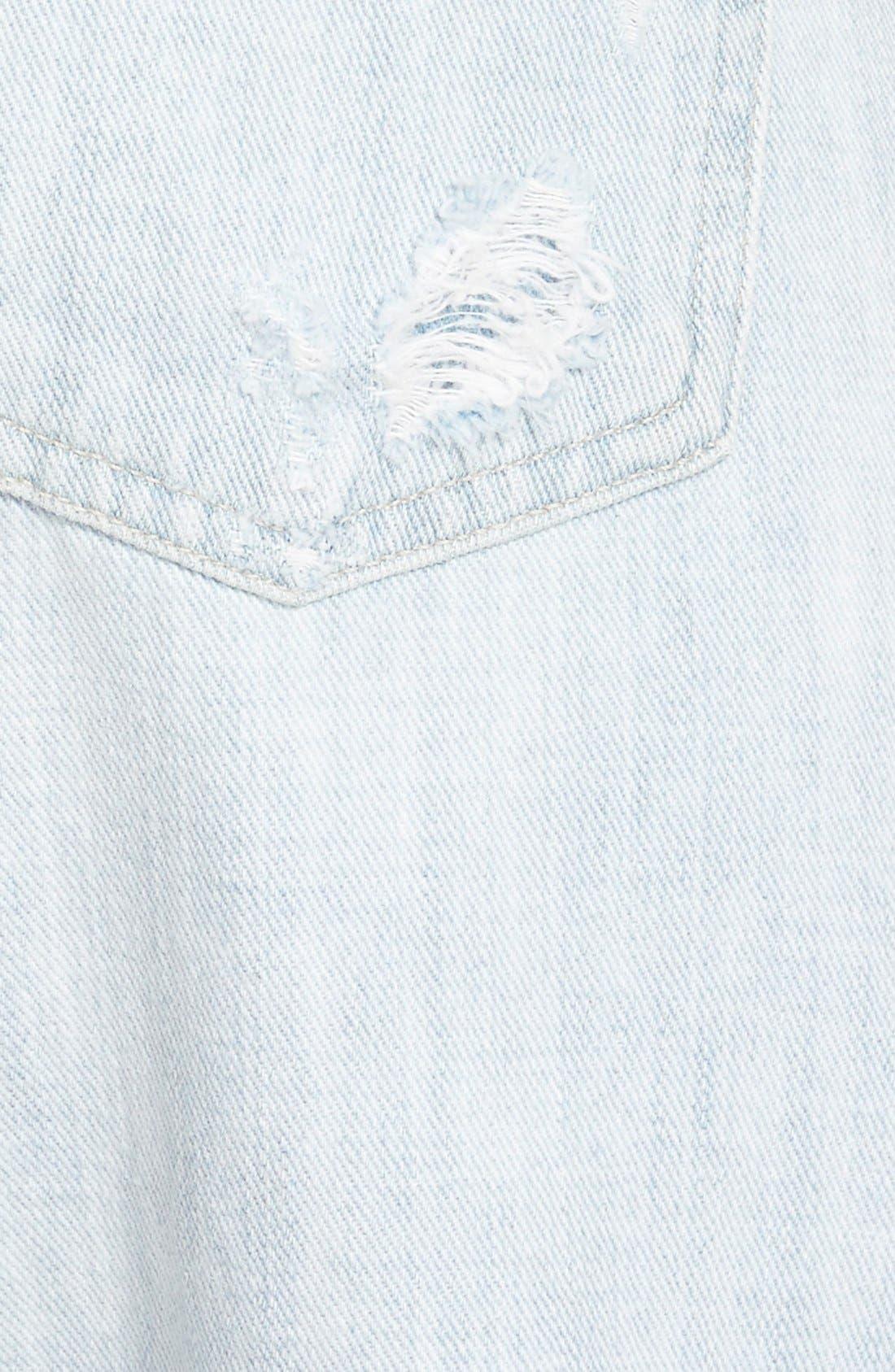 'Emerson' Slim Boyfriend Jeans,                             Alternate thumbnail 3, color,                             450