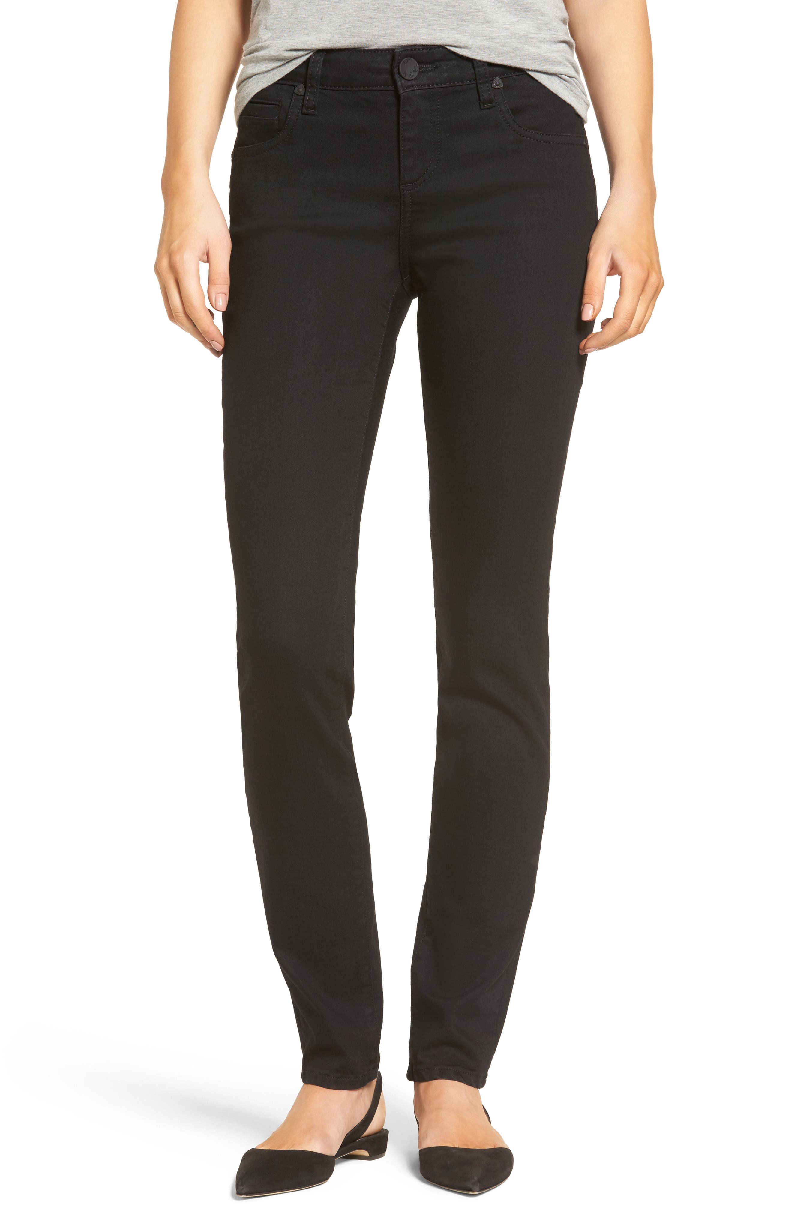 Diana Stretch Skinny Jeans,                             Main thumbnail 1, color,                             002