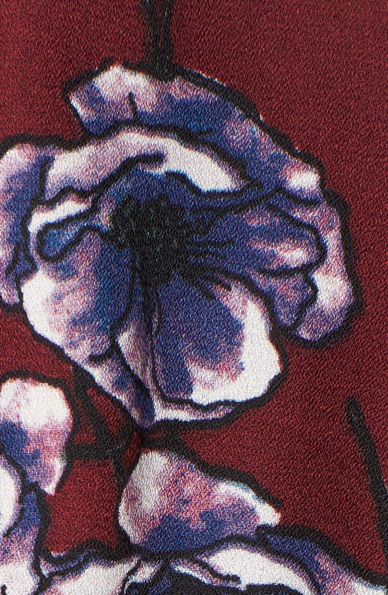 Floral Ruffle Blouse,                             Alternate thumbnail 20, color,