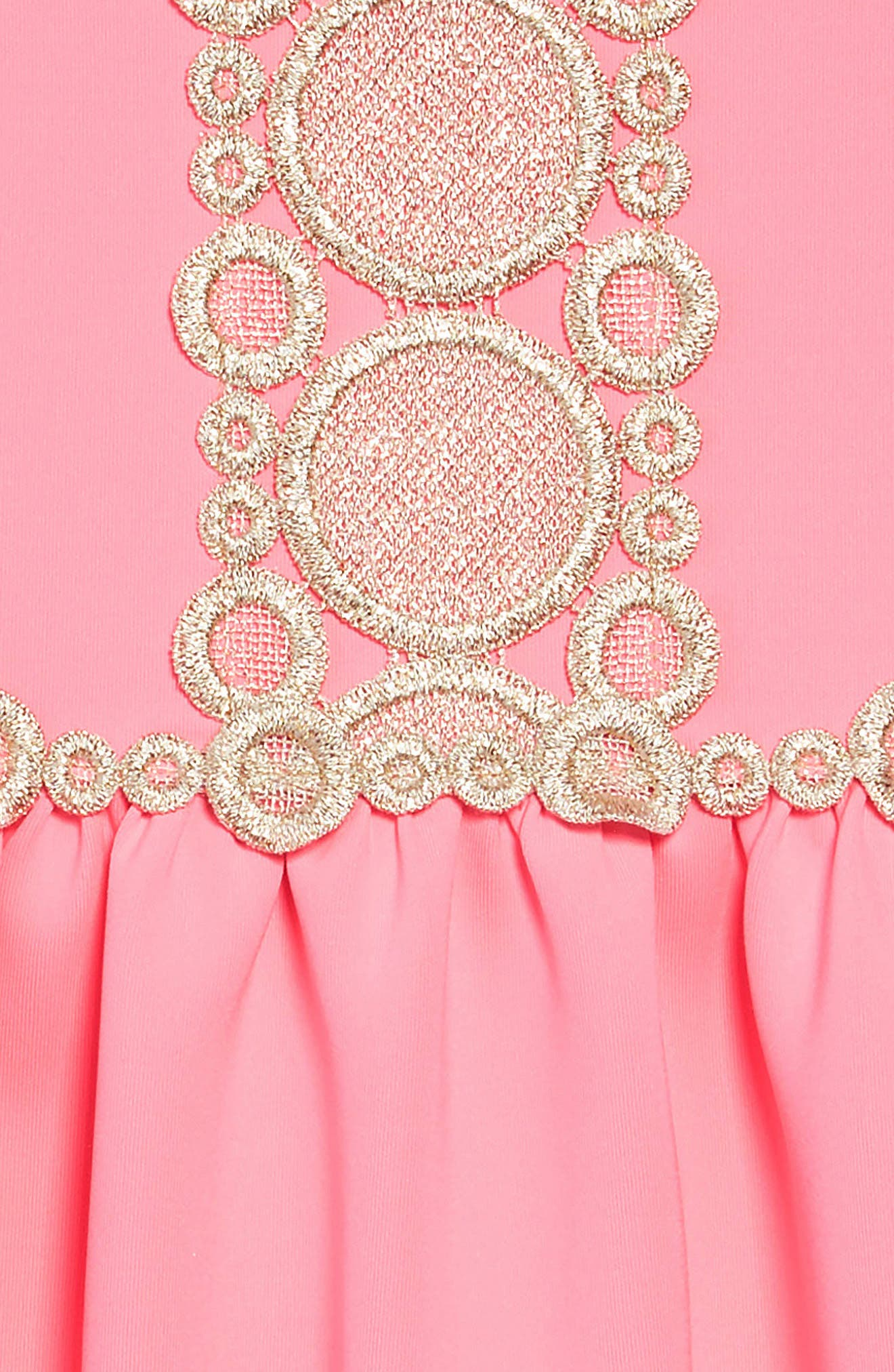 Baylee A-Line Dress,                             Alternate thumbnail 3, color,                             PINK SUNSET