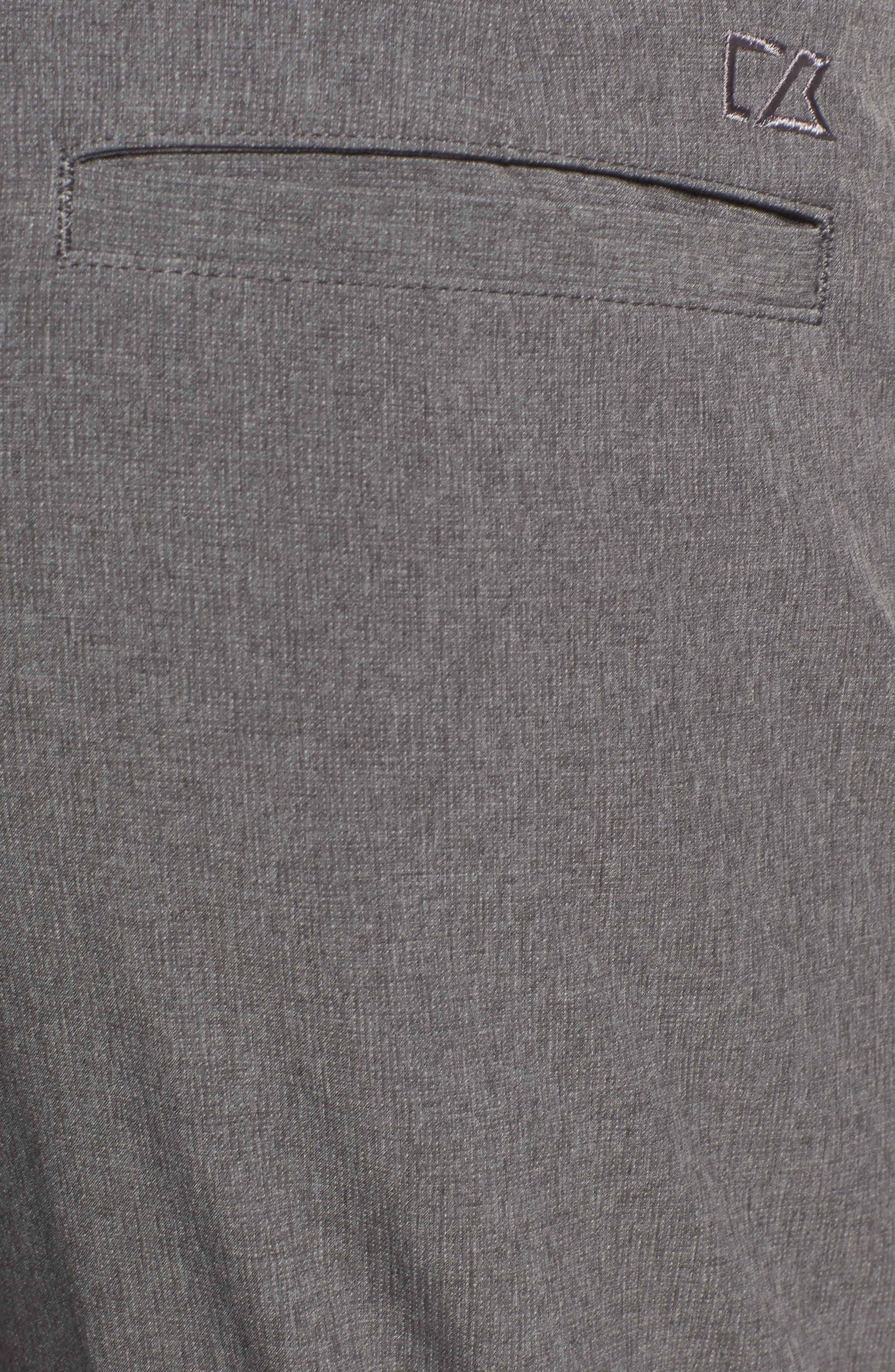 Bainbridge DryTec Moisture Wicking Flat Front Pants,                             Alternate thumbnail 2, color,                             IRON GREY