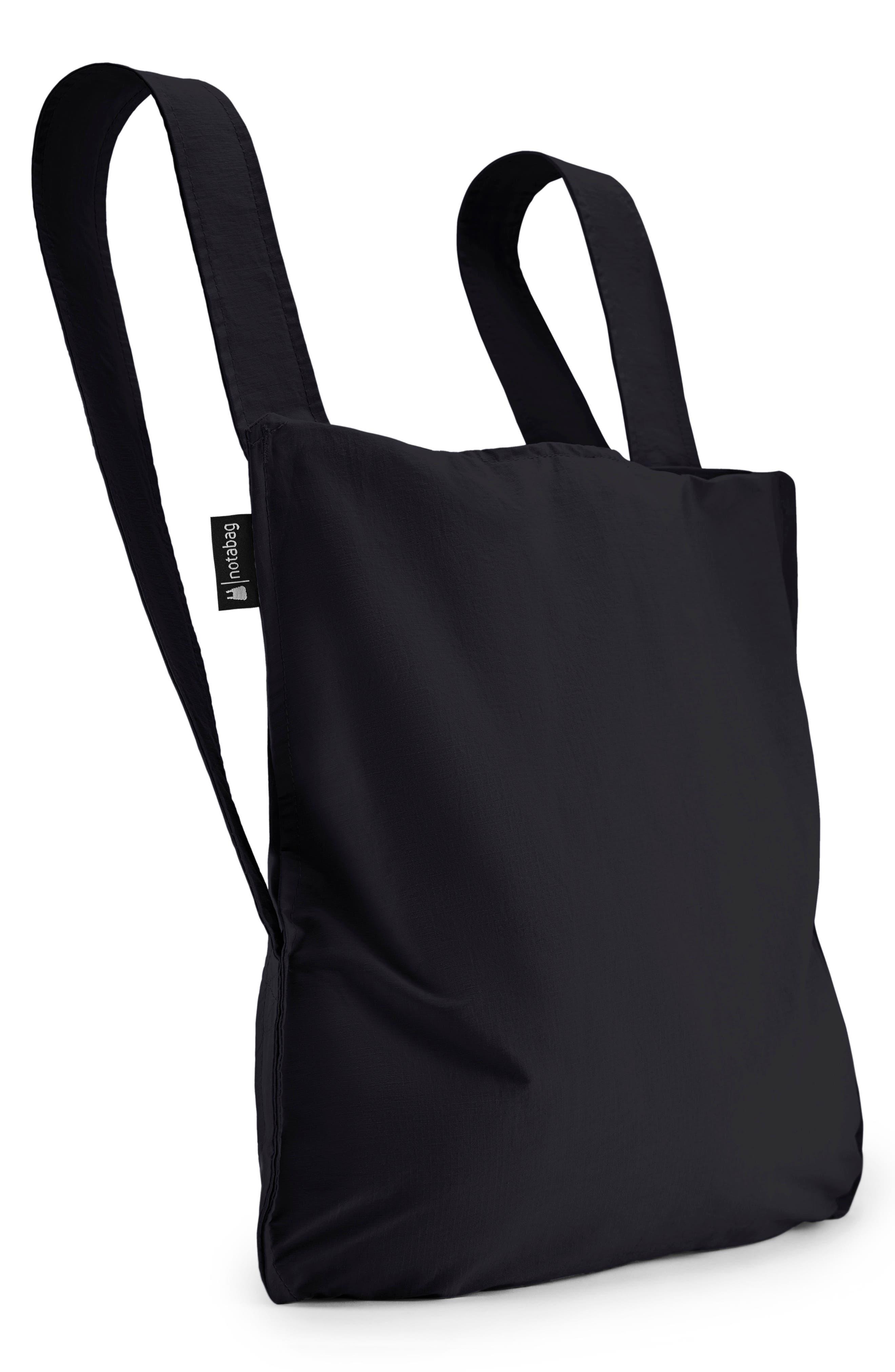 Convertible Tote Backpack,                         Main,                         color, BLACK