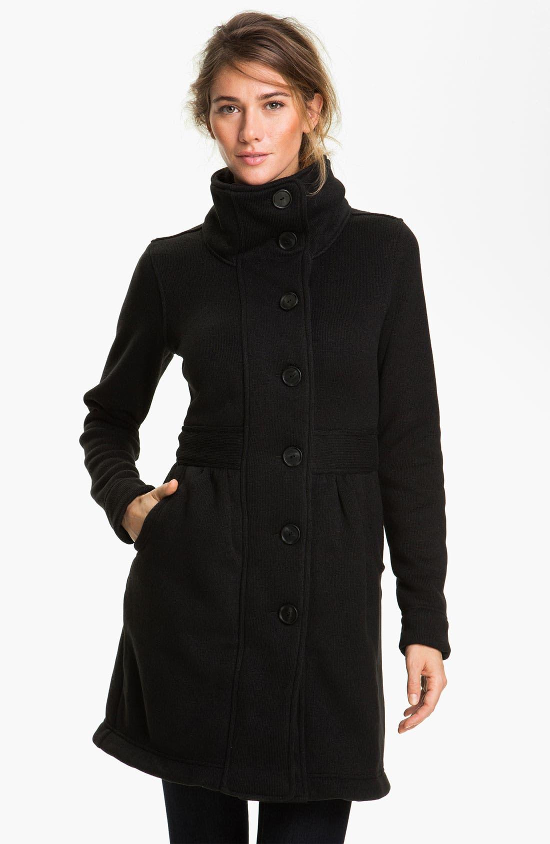 PATAGONIA,                             'Better Sweater' Coat,                             Main thumbnail 1, color,                             001