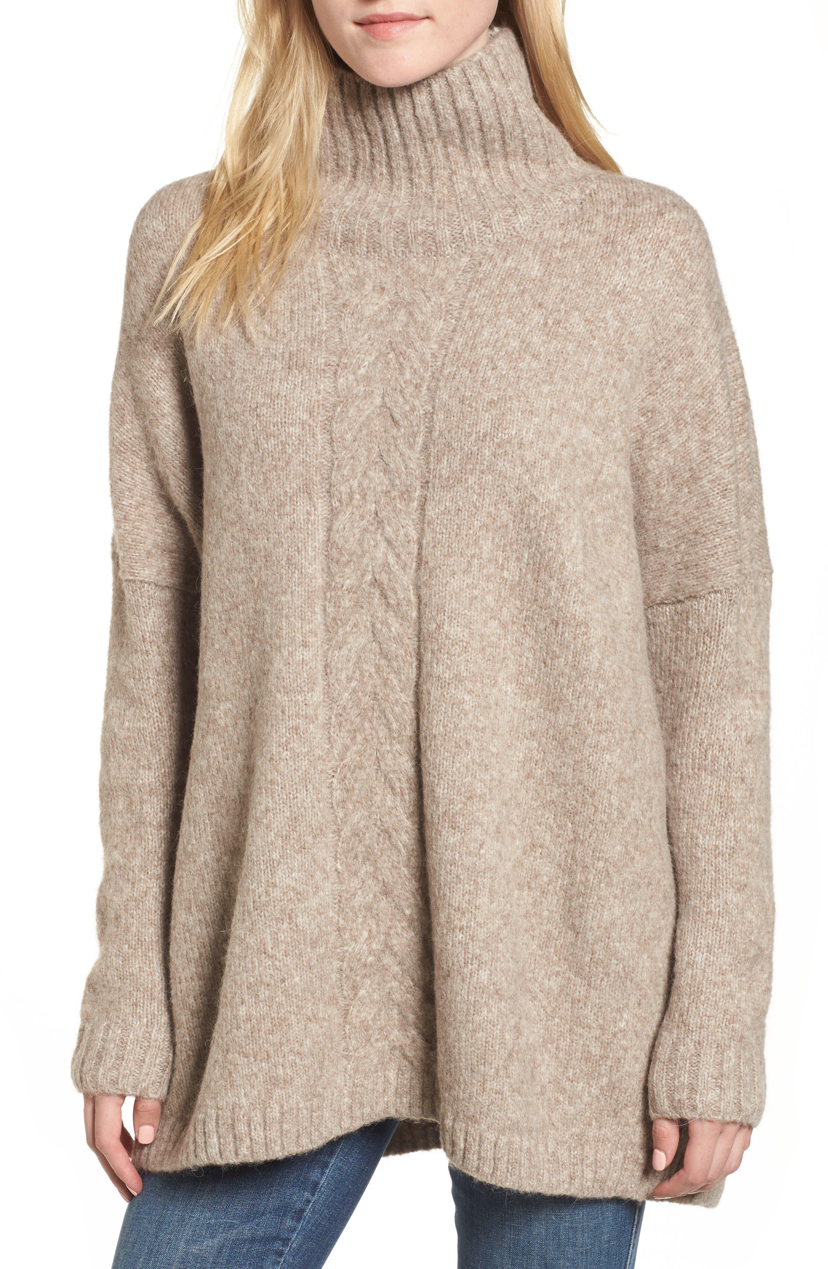 Ora Mock Neck Sweater,                             Main thumbnail 1, color,                             250