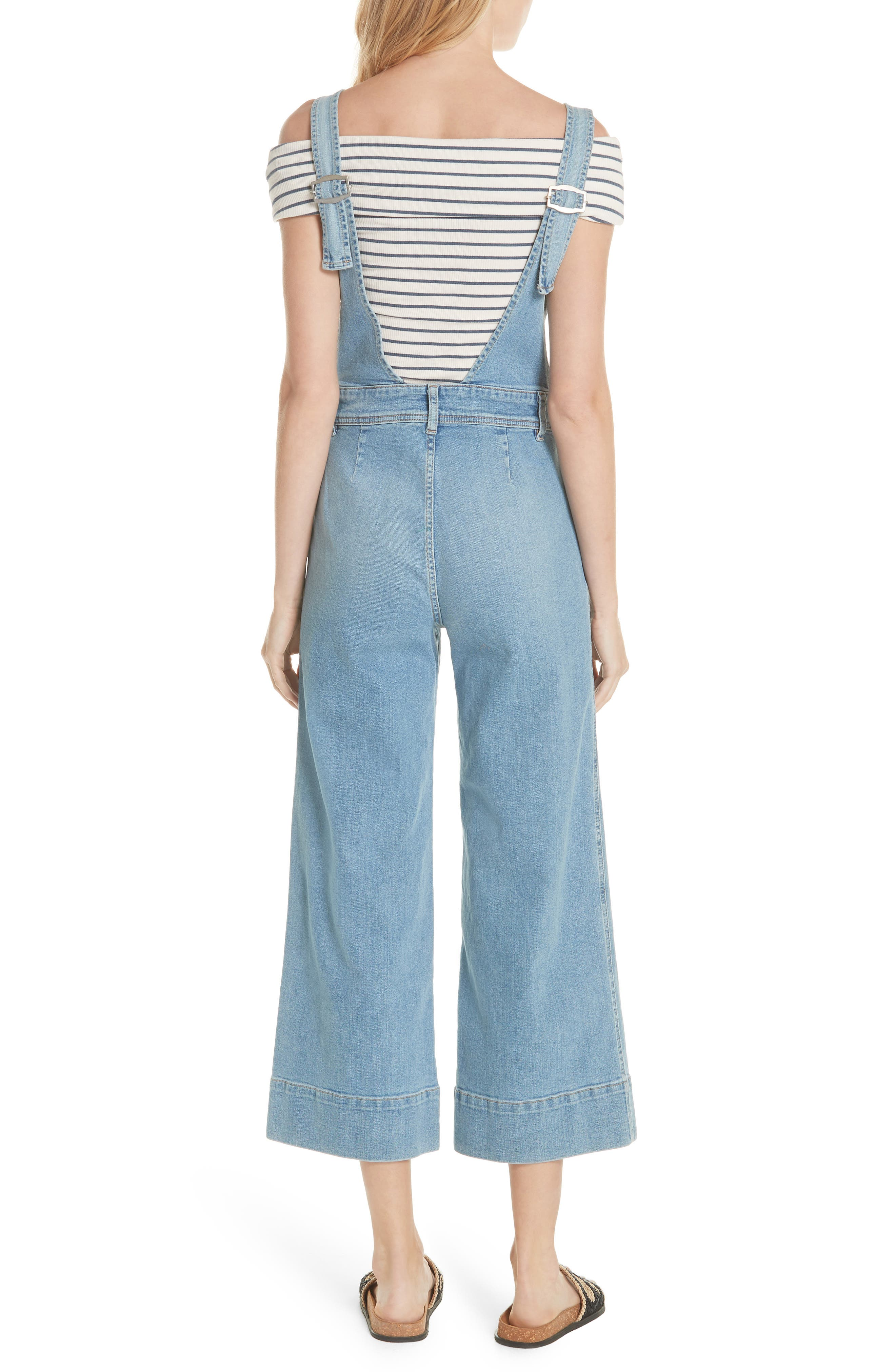 We the Free by Free People A-Line Overalls,                             Alternate thumbnail 2, color,                             456