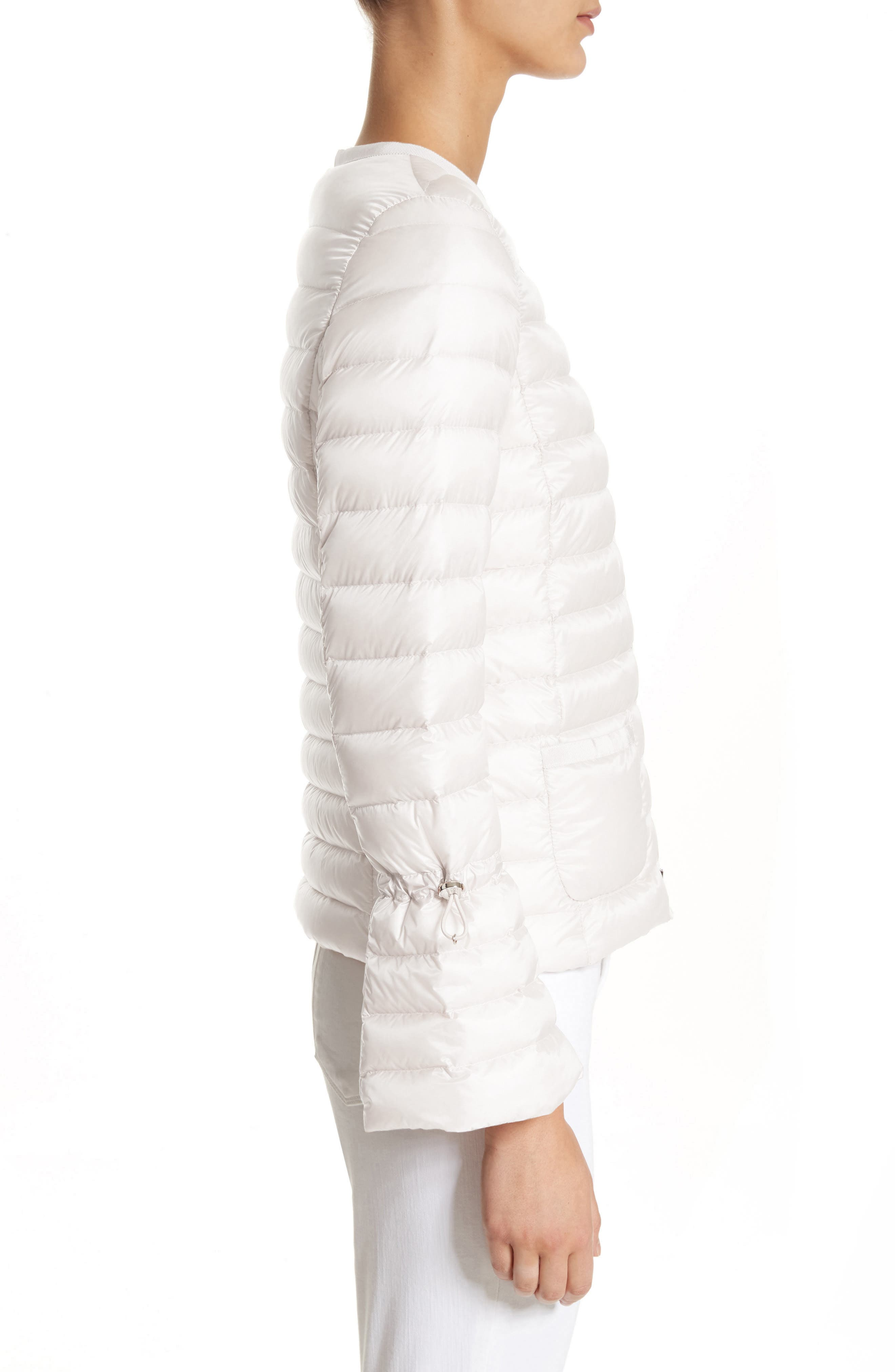 Almandin Quilted Puffer Jacket,                             Alternate thumbnail 3, color,                             101