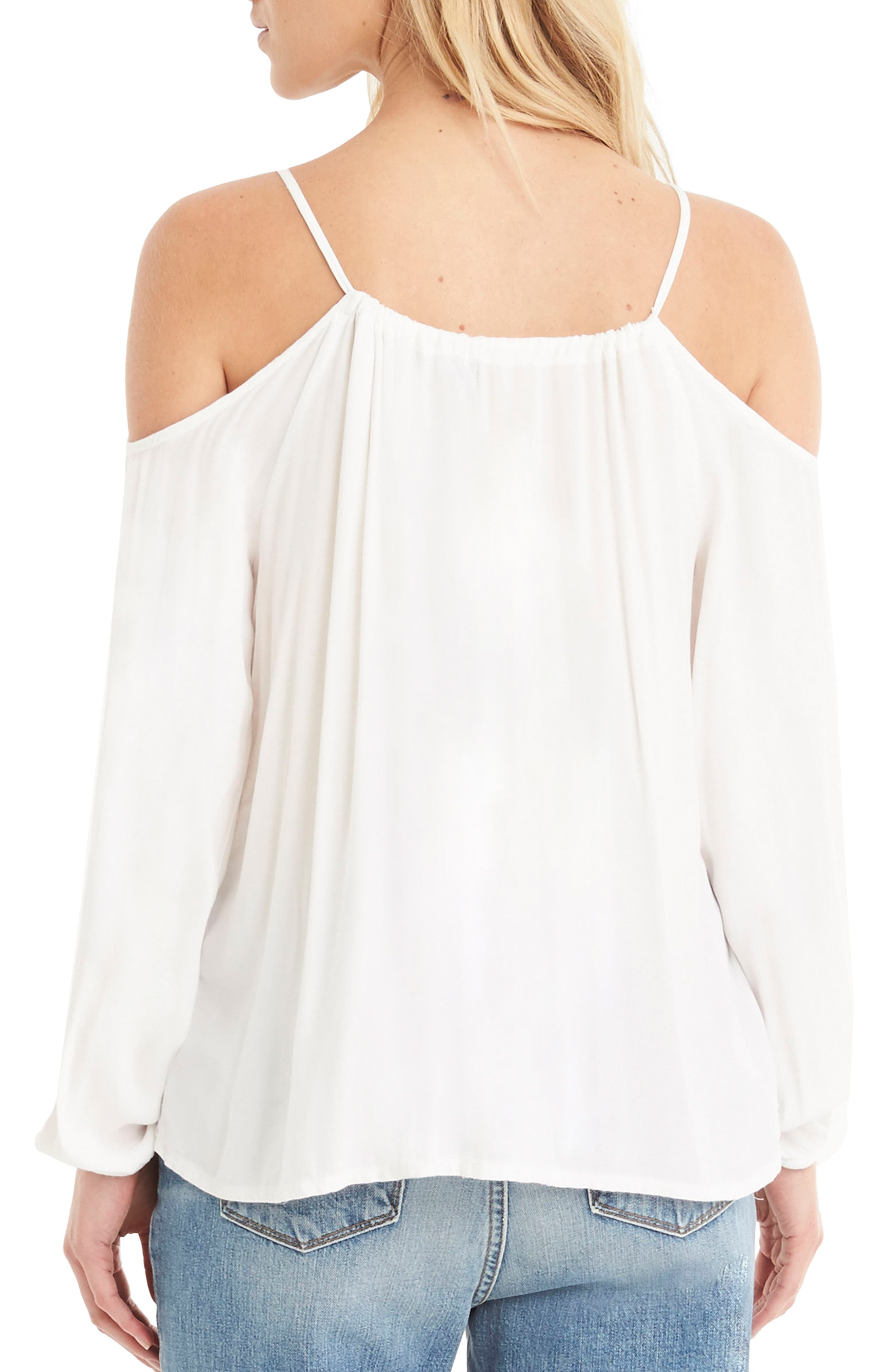 Off the Shoulder Top,                             Alternate thumbnail 4, color,