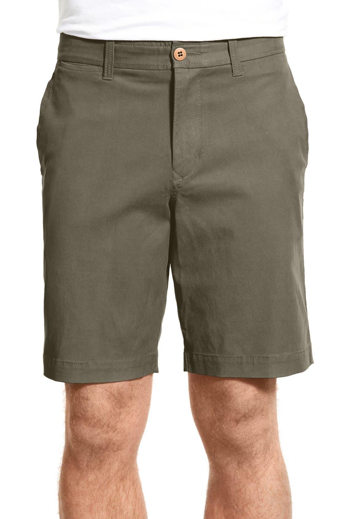 'Offshore' Flat Front Shorts,                             Main thumbnail 9, color,
