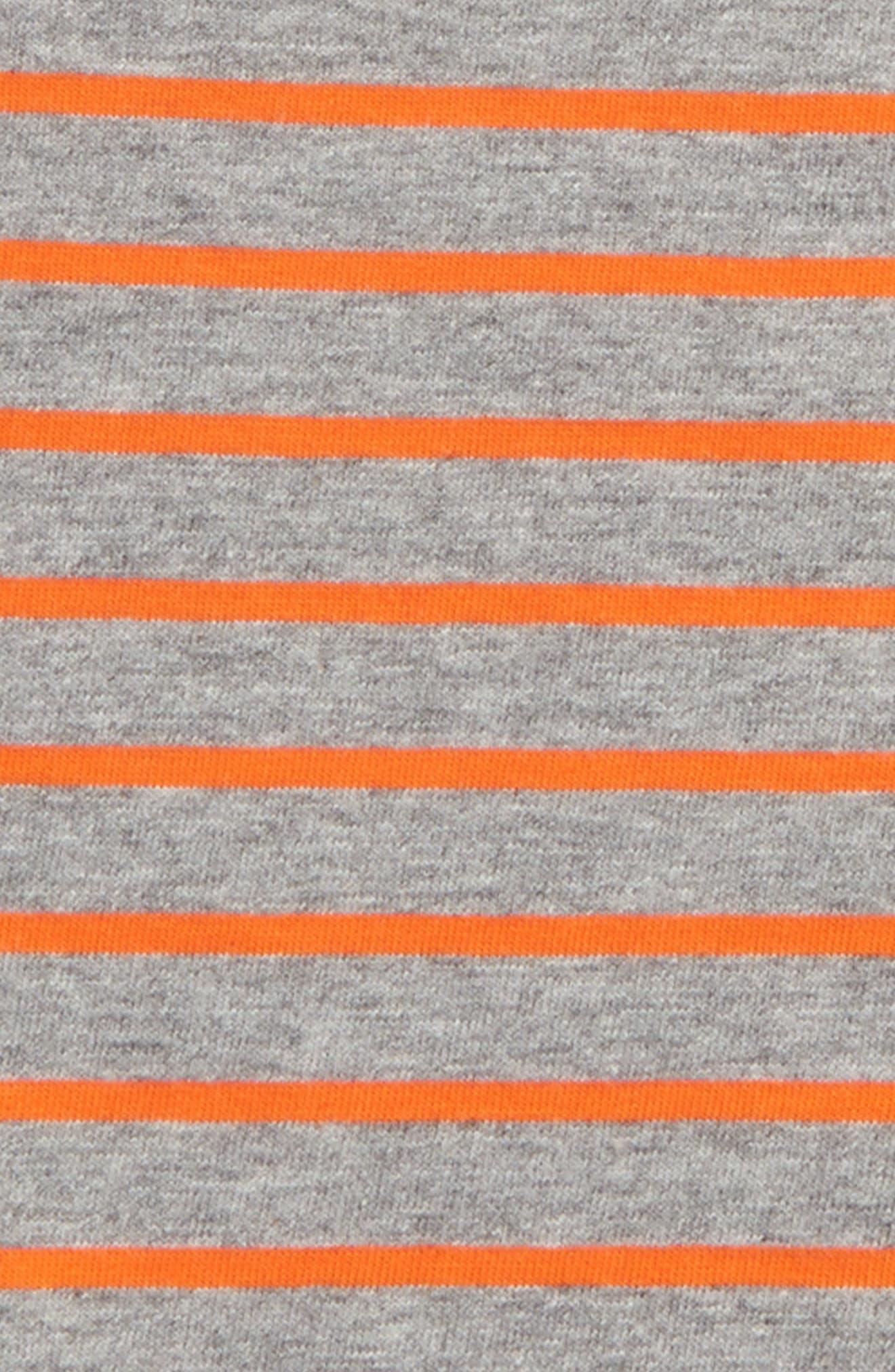 Supersoft Stripe T-Shirt,                             Alternate thumbnail 2, color,                             081