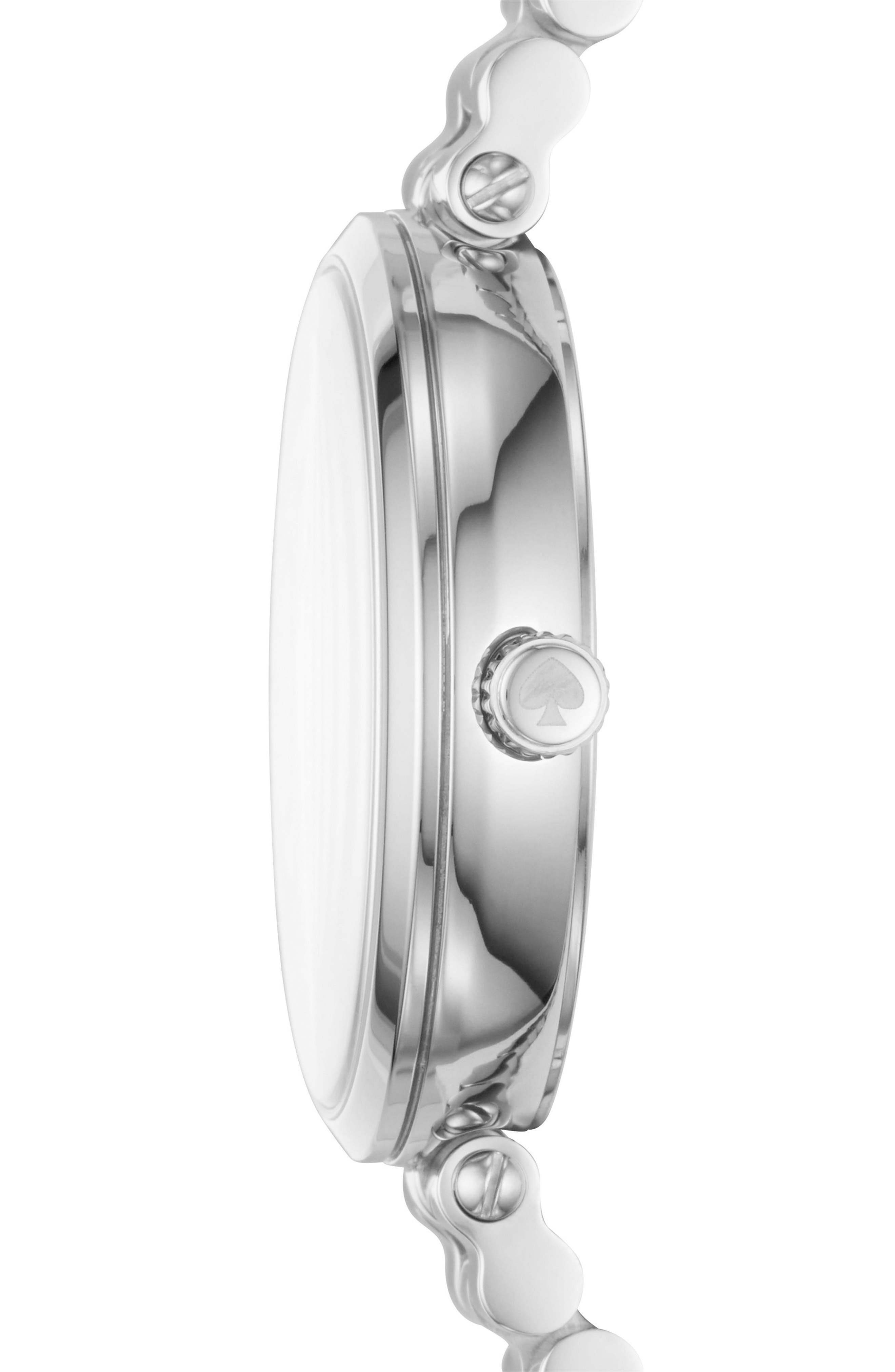 holland multifunctional bracelet watch, 34mm,                             Alternate thumbnail 2, color,                             040